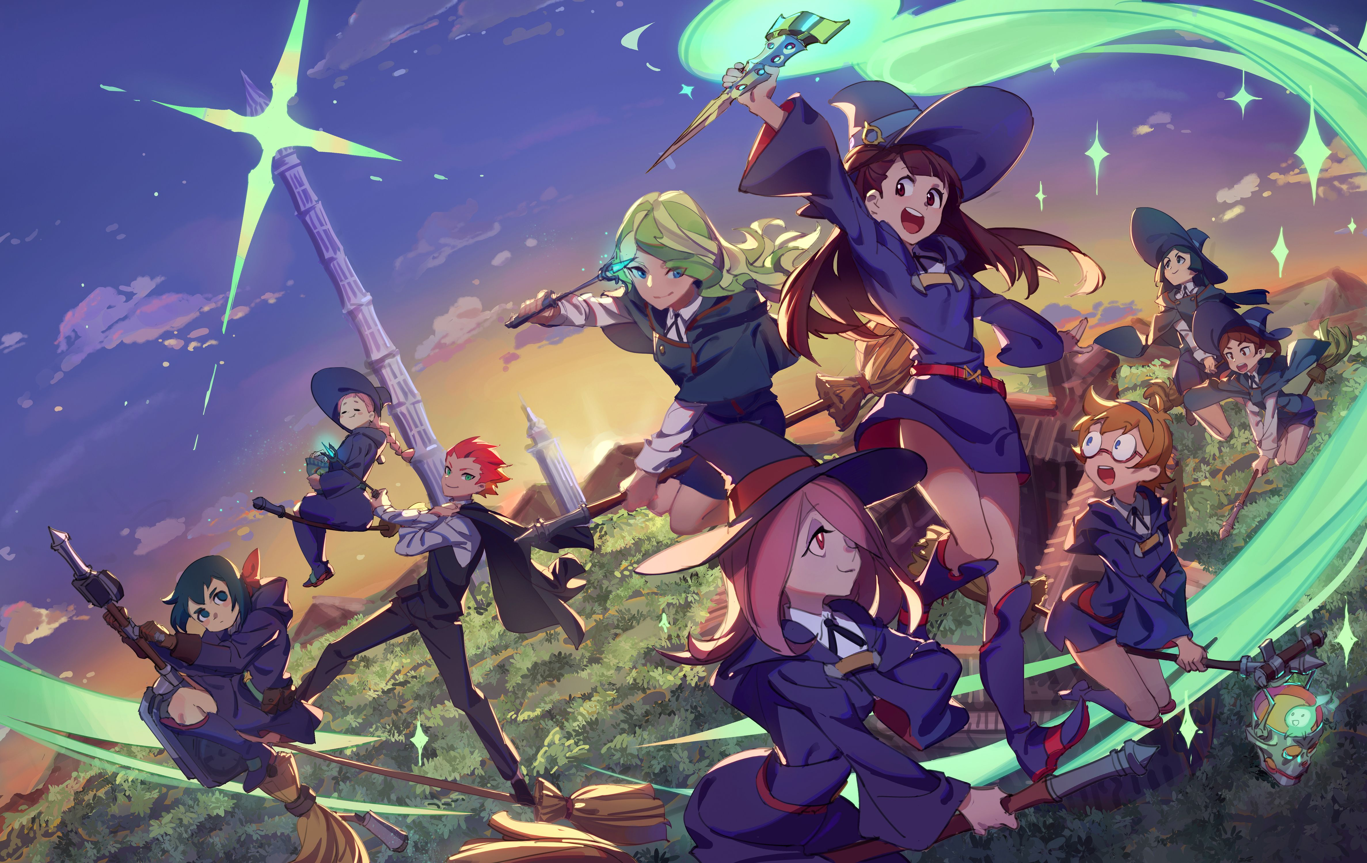 Little Witch Academia Wallpapers - Top Free Little Witch Academia  Backgrounds - WallpaperAccess