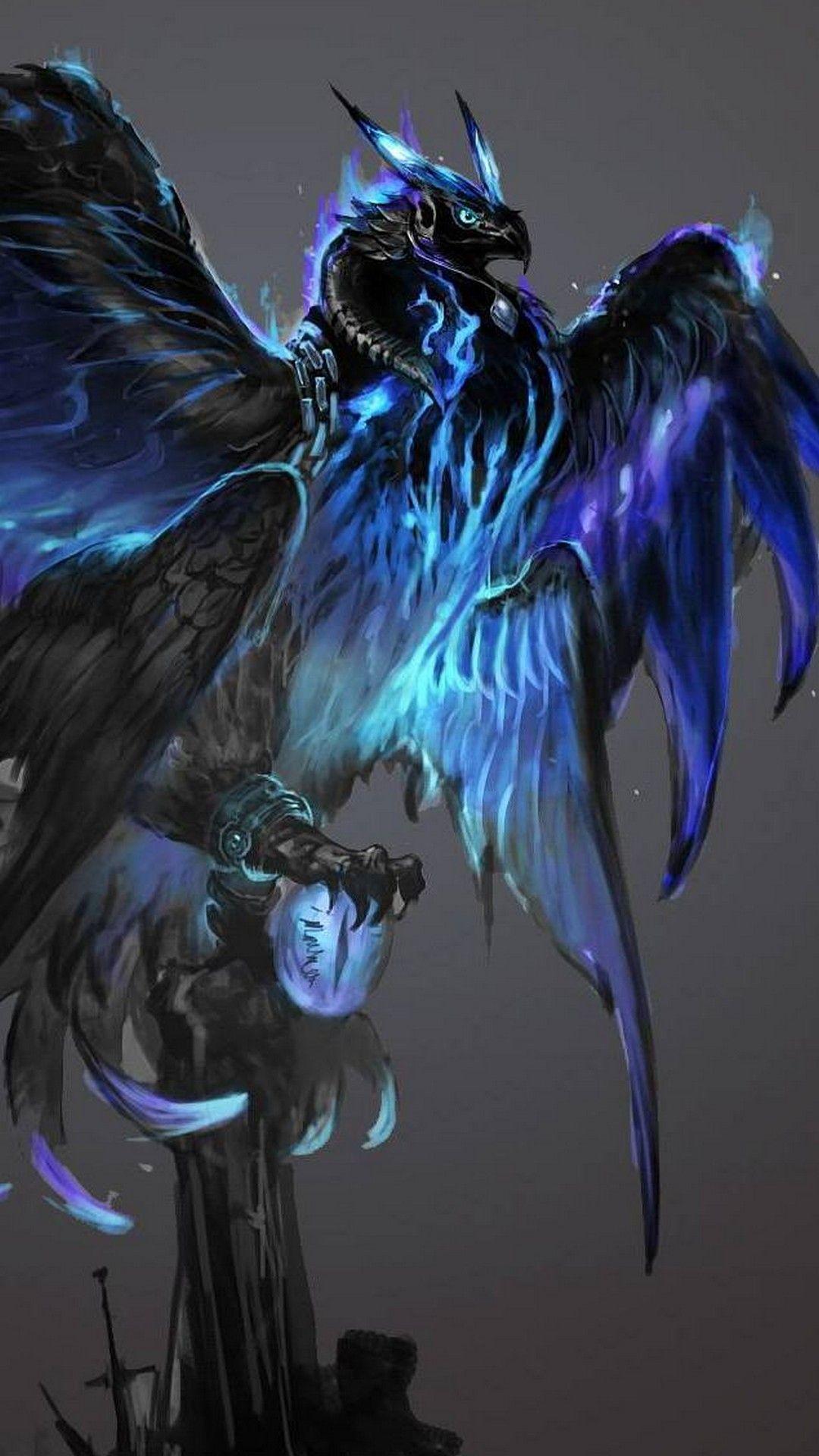 Blue Phoenix Wallpapers Top Free Blue Phoenix Backgrounds