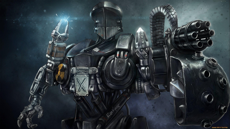 Sci Fi Robot Wallpapers Top Free Sci Fi Robot Backgrounds Wallpaperaccess