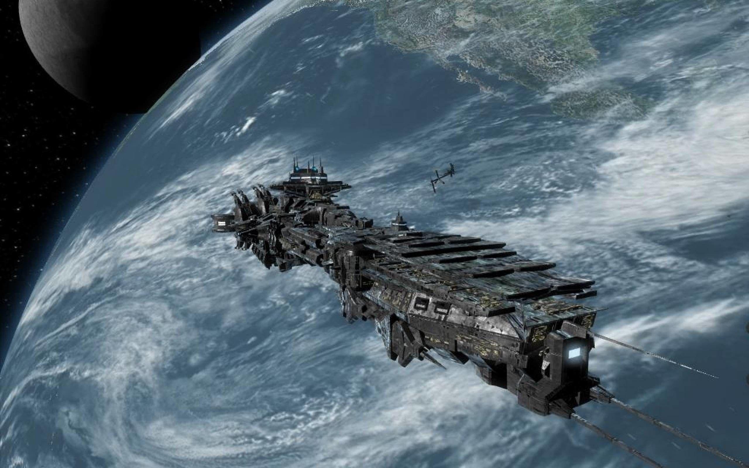 Sci-Fi Ship Wallpapers - Top Free Sci-Fi Ship Backgrounds - WallpaperAccess