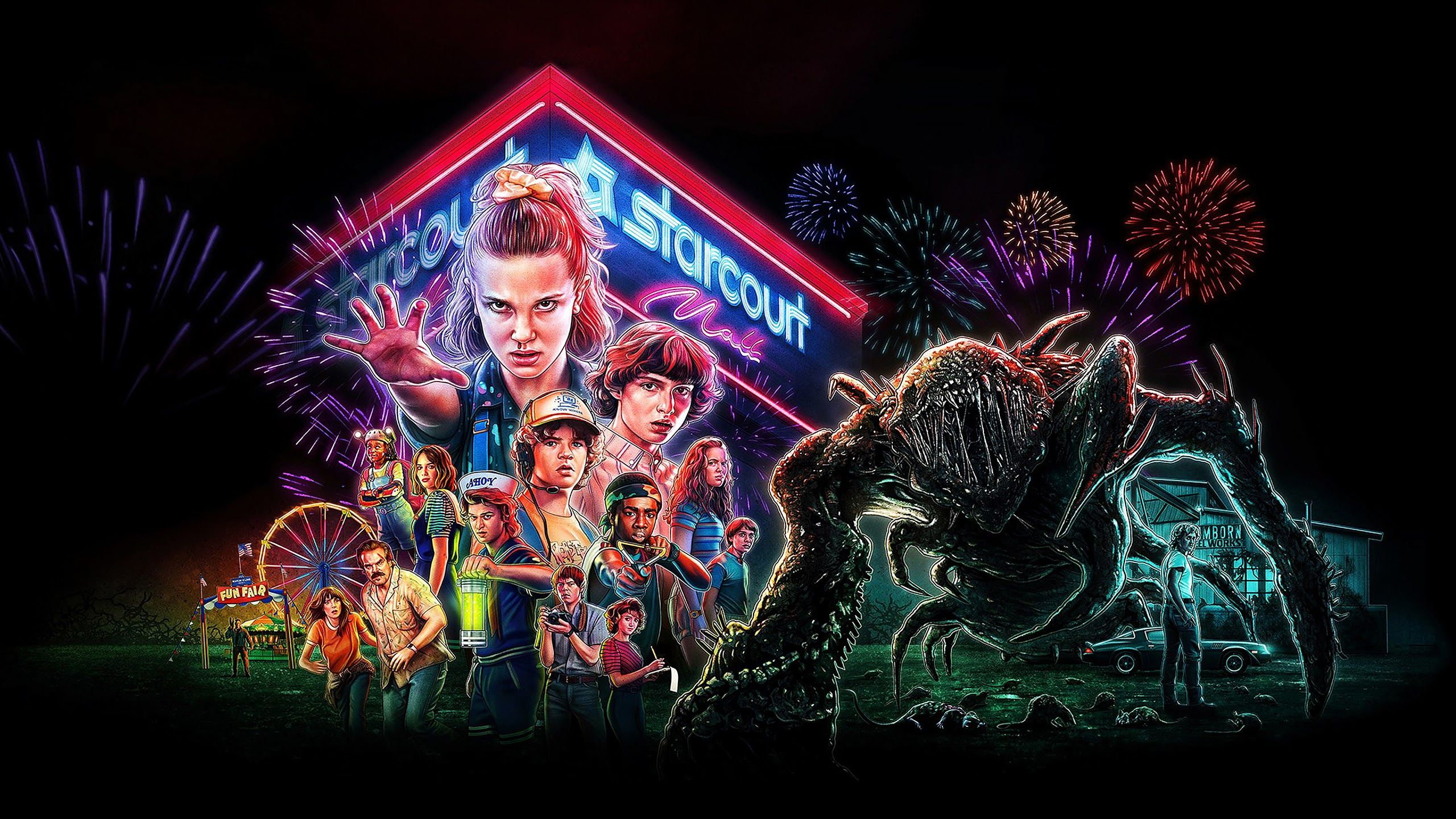 Stranger Things Widescreen Wallpapers Top Free Stranger Things