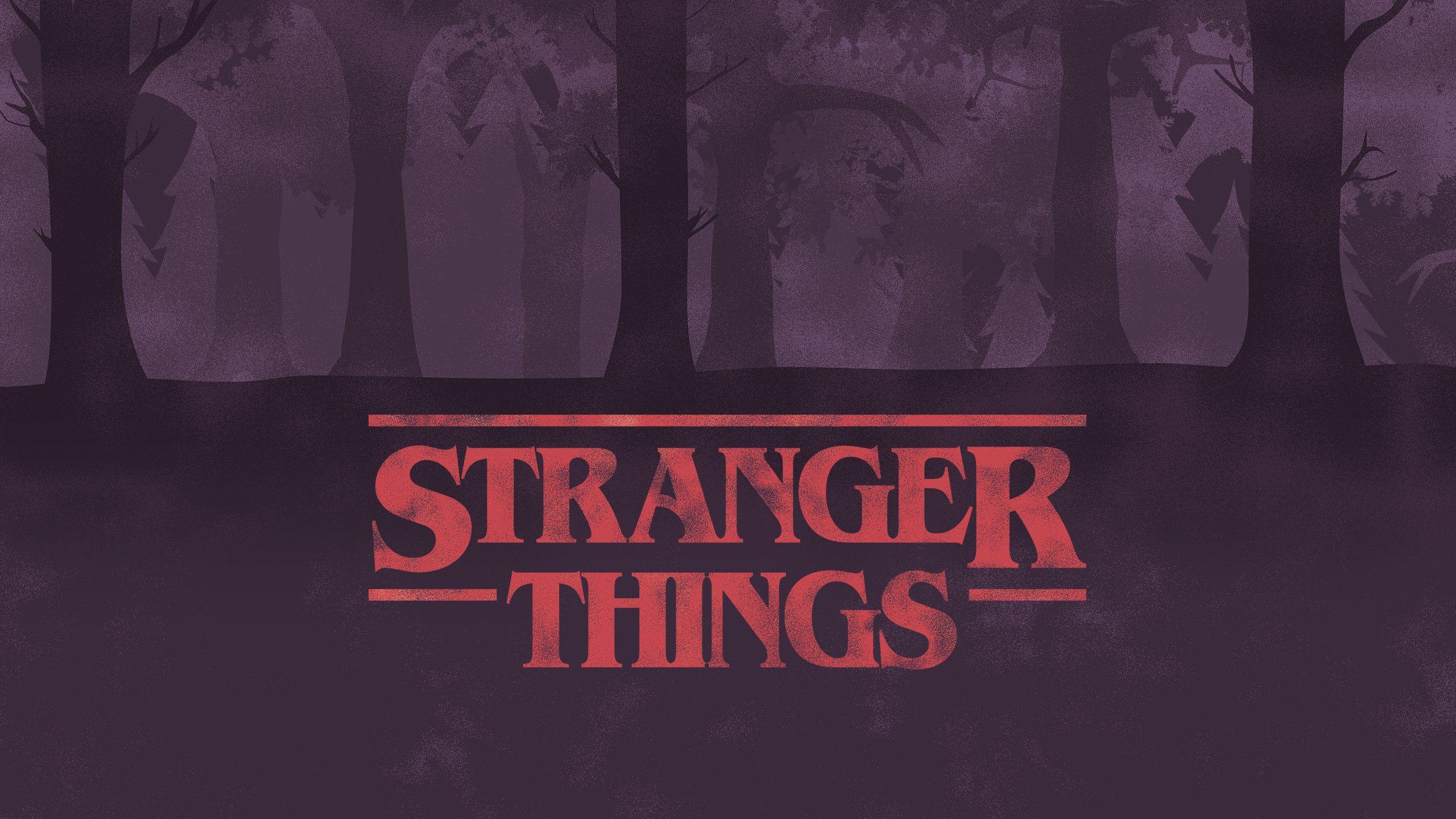 Stranger Things Aesthetic Laptop Wallpapers Top Free Stranger