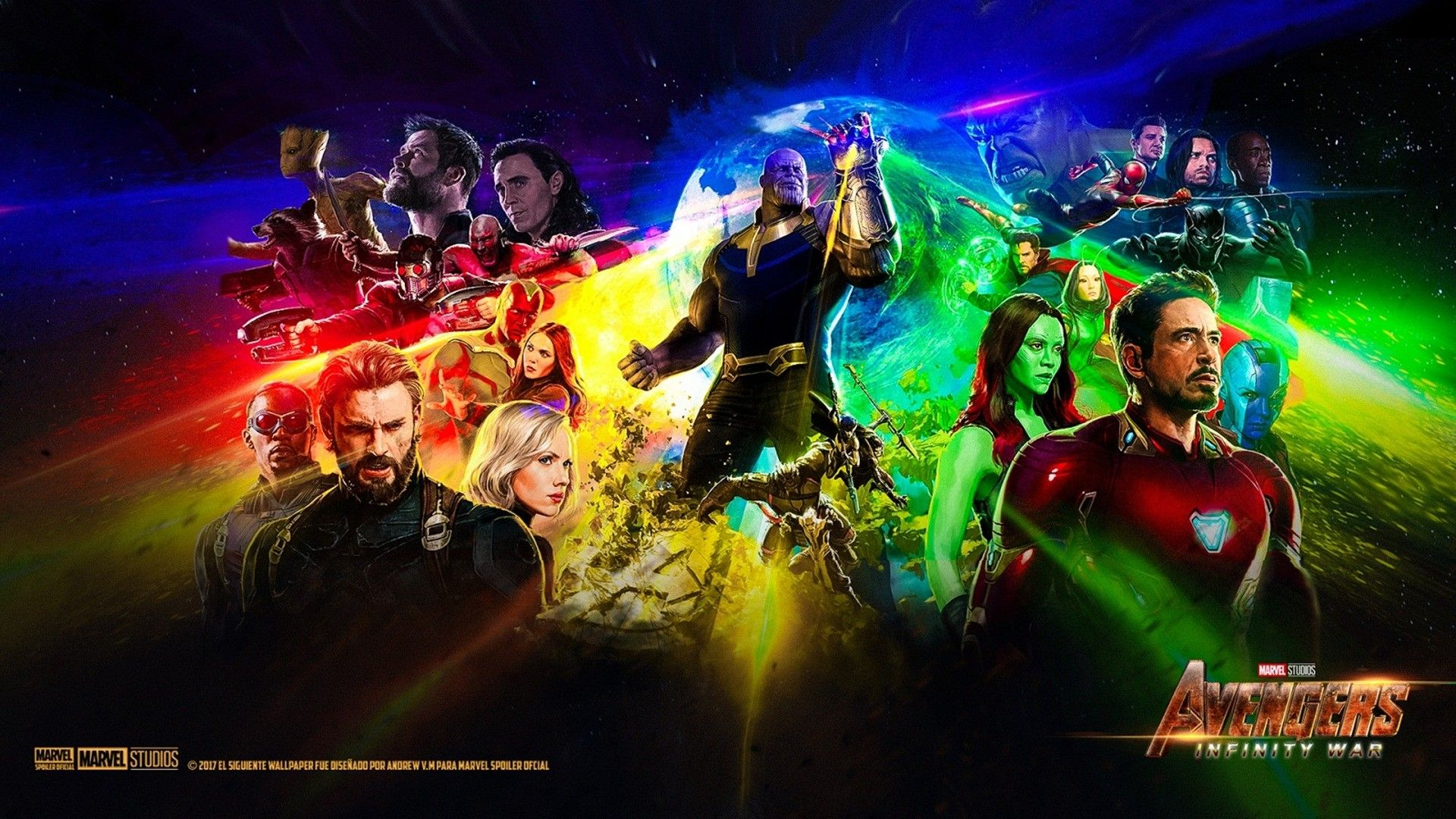 Laptop Wallpaper Marvel