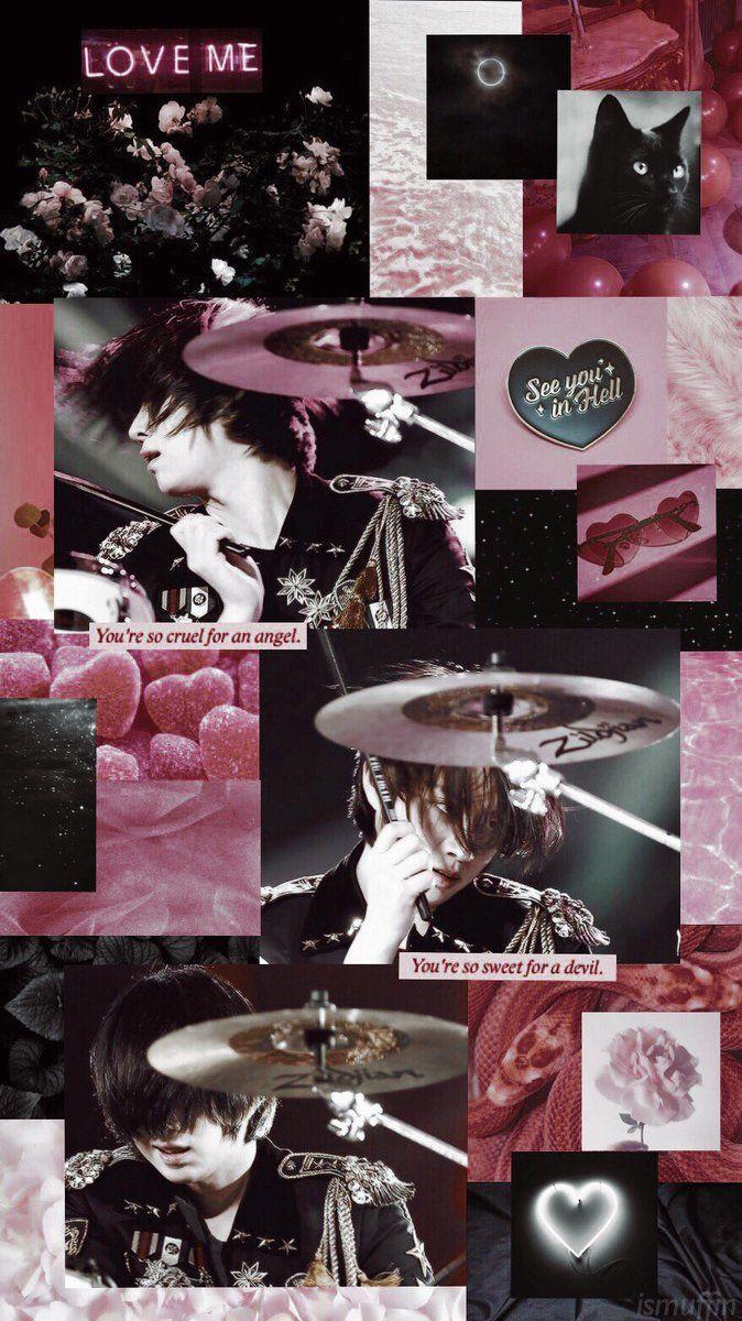 Pink Black Aesthetic Wallpapers Top Free Pink Black Aesthetic Backgrounds Wallpaperaccess