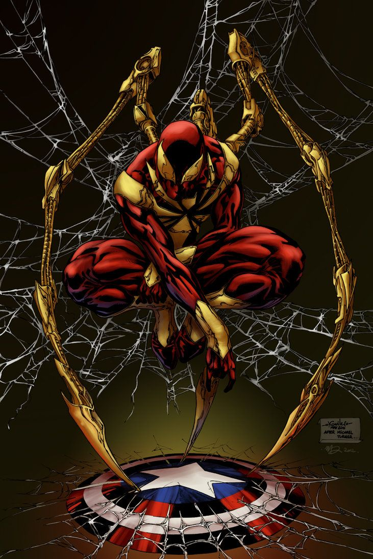 Iron Spider Man Wallpapers Top Free Iron Spider Man