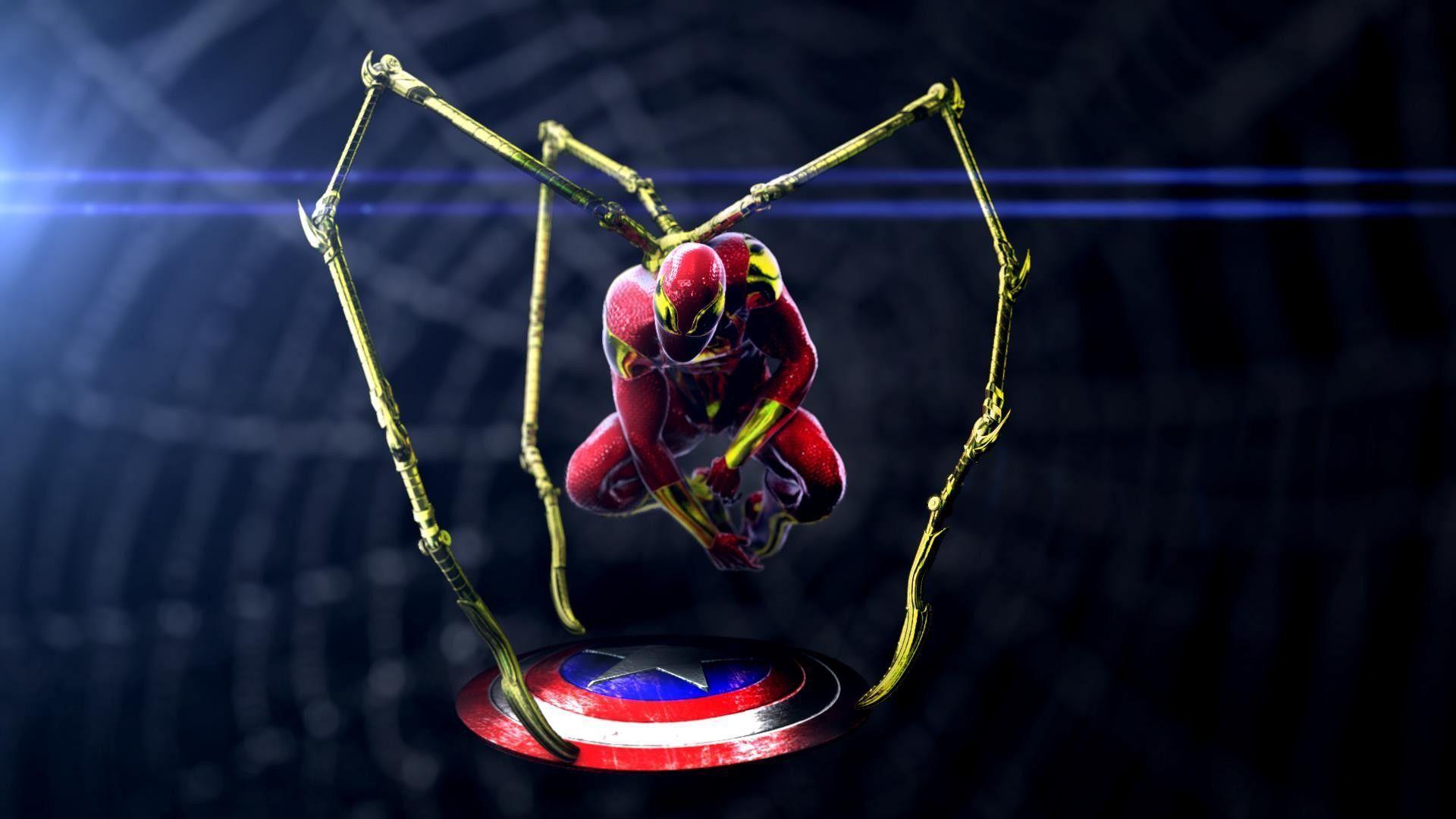 Iron Spider Man Wallpapers Top Free Iron Spider Man