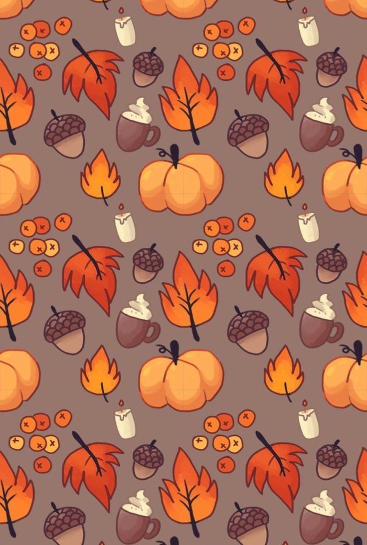 Cute Fall Pattern Wallpapers - Top Free Cute Fall Pattern ...