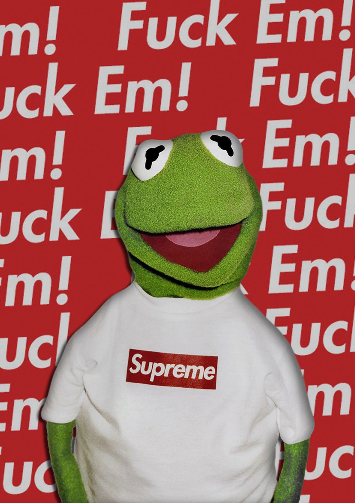 Supreme Kermit Wallpapers Top Free Supreme Kermit