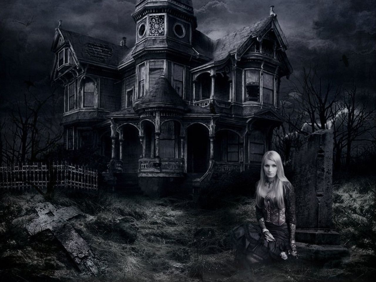 Haunted House Wallpapers Top Free Haunted House