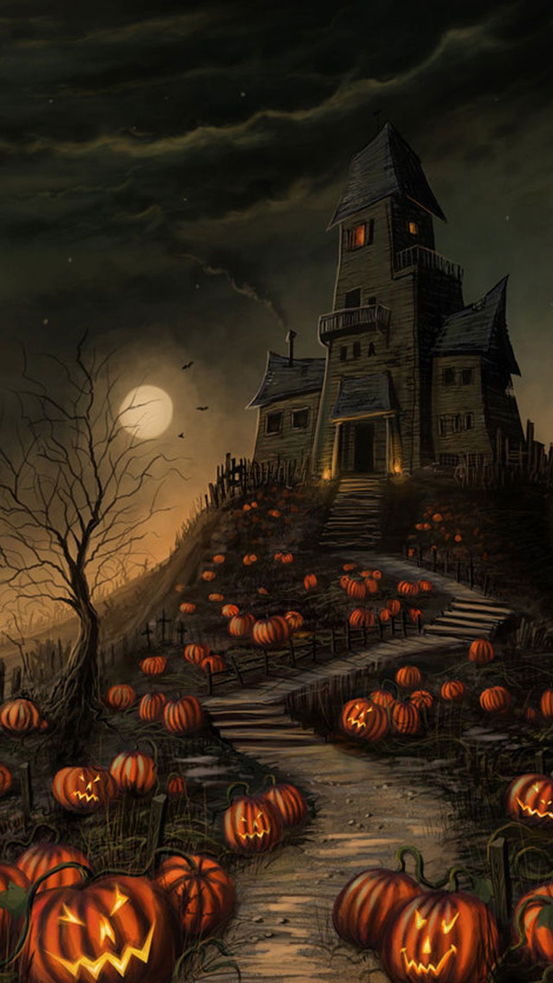 Haunted House Halloween Wallpapers Top Free Haunted House