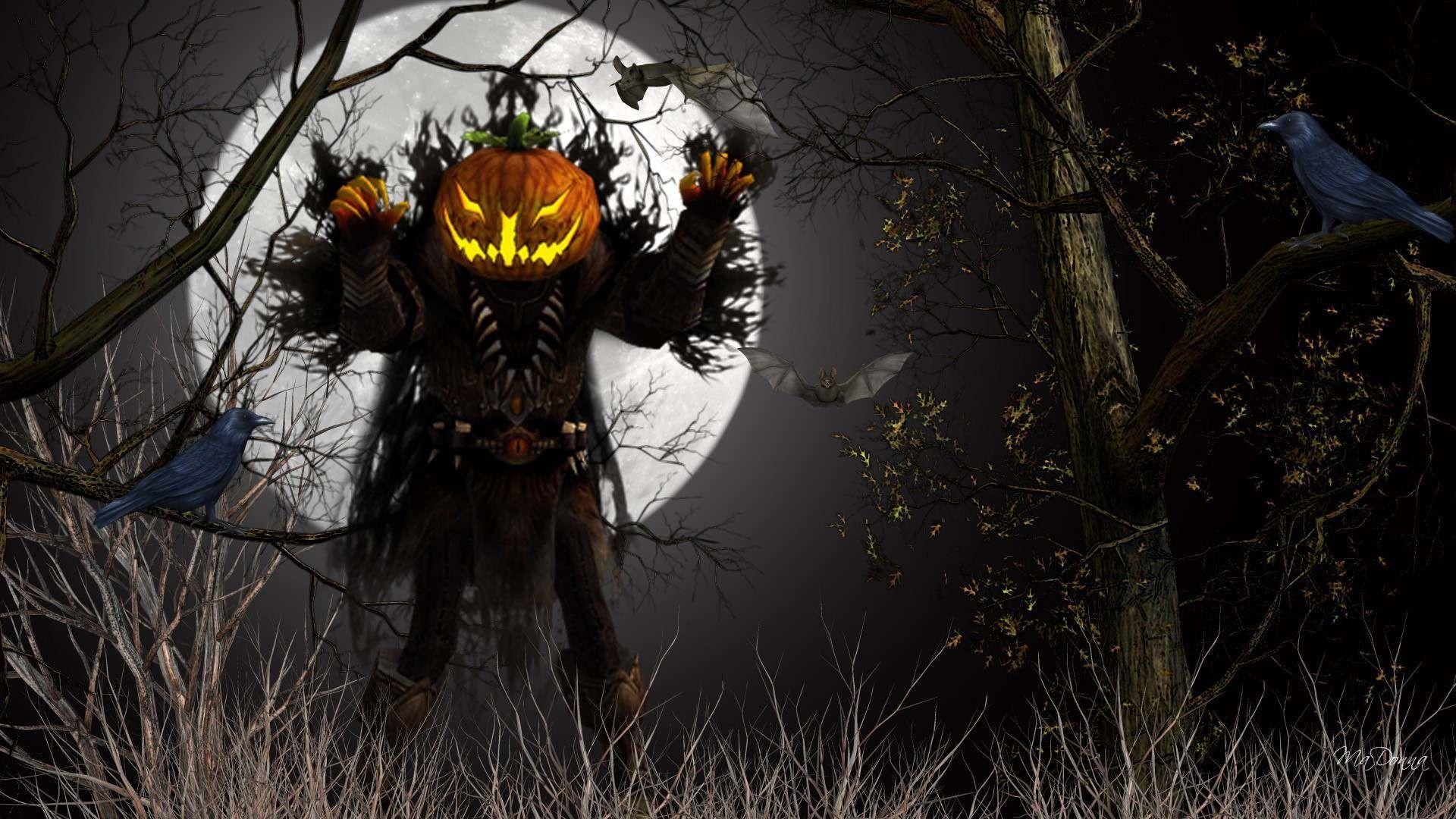 Scary Halloween Desktop Wallpapers - Top Free Scary ...