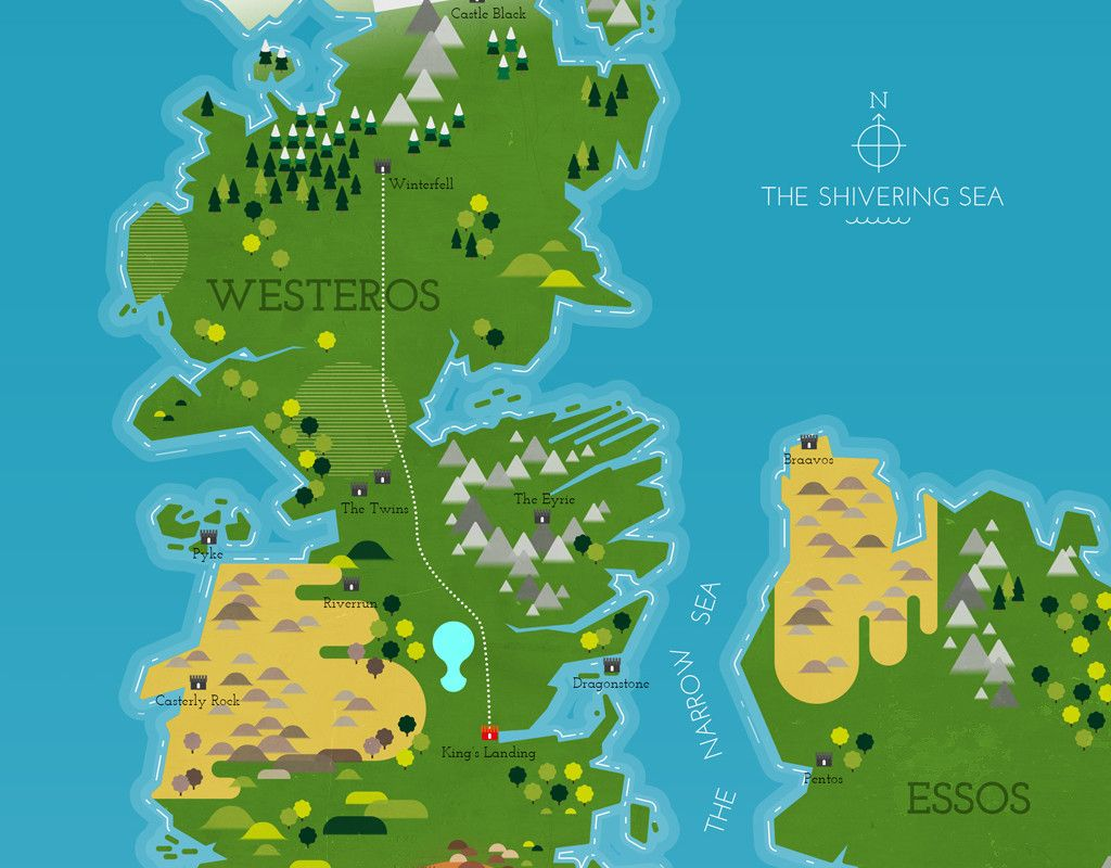 Game Of Thrones Map Hd Pdf - Game Fans Hub