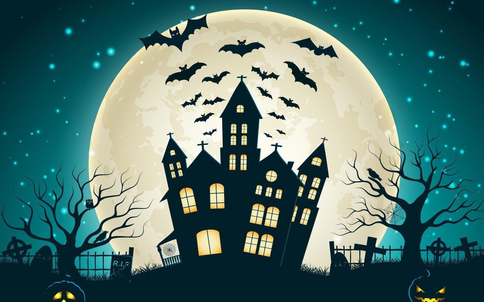 Cartoon Halloween Wallpapers Top Free Cartoon Halloween Backgrounds Wallpaperaccess