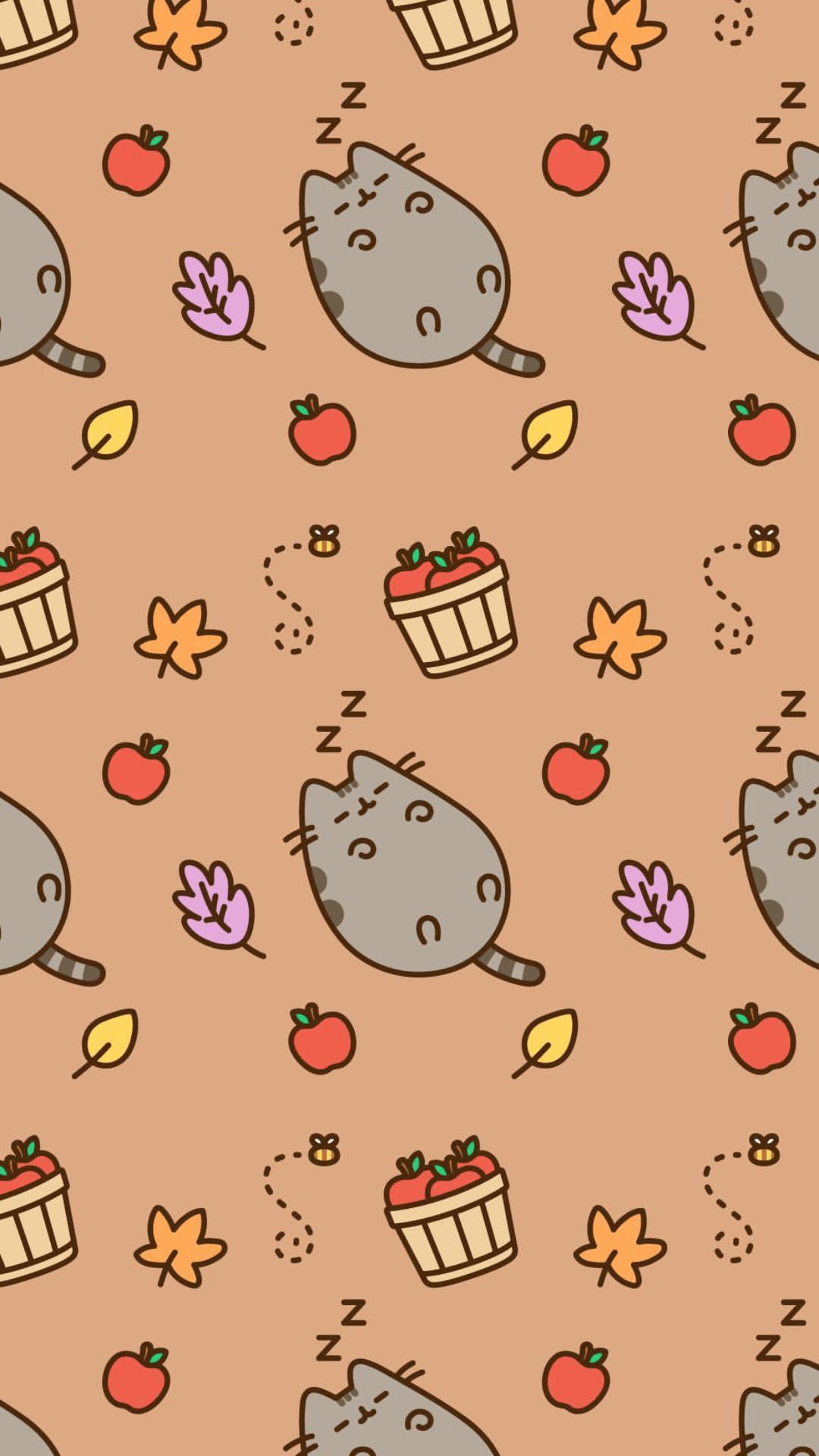 Cute Halloween Pusheen Wallpapers Top Free Cute Halloween