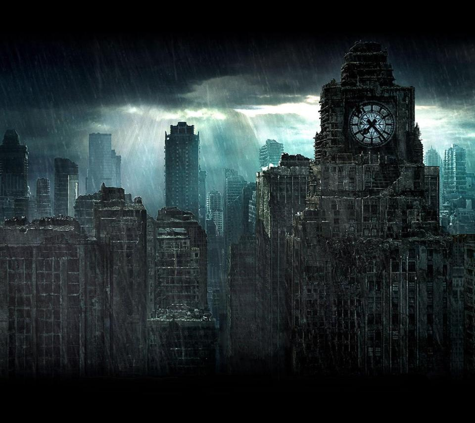 Dark City Wallpapers Top Free Dark City Backgrounds Wallpaperaccess