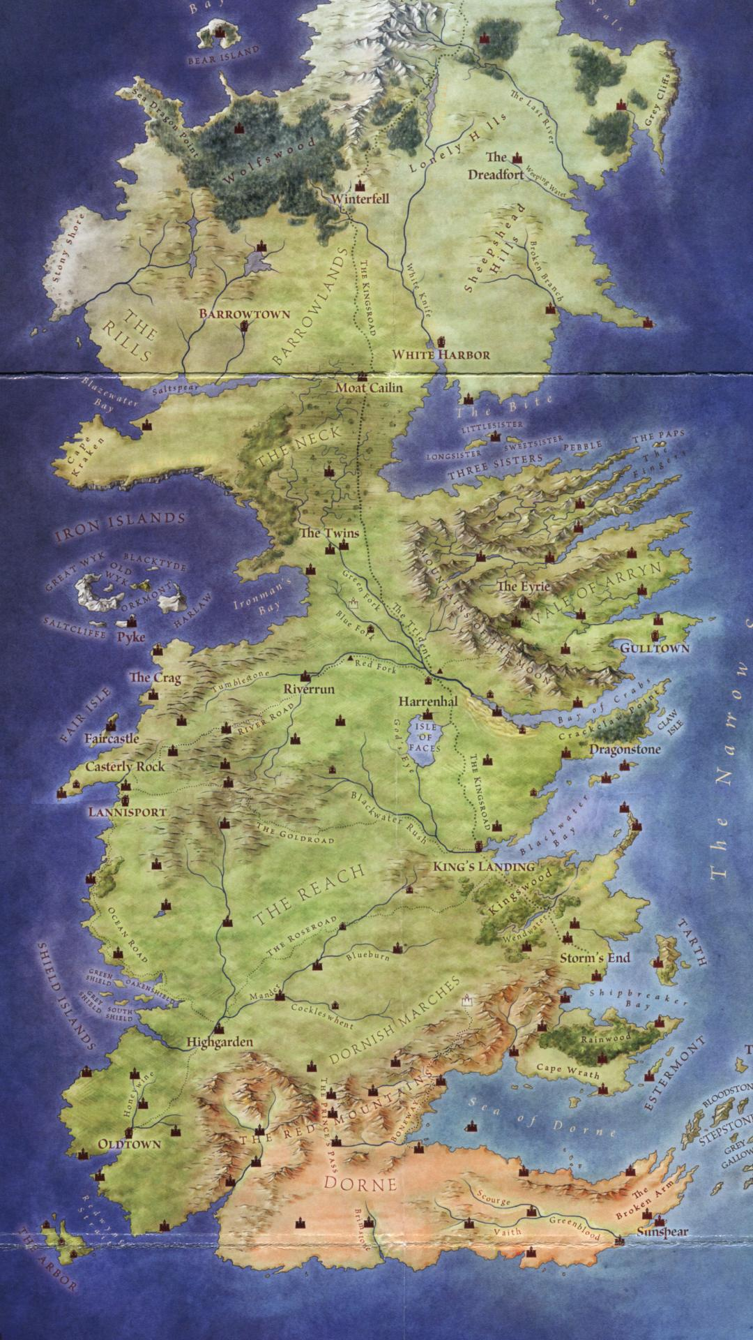Game of Thrones Map Wallpapers - Top Free Game of Thrones ...