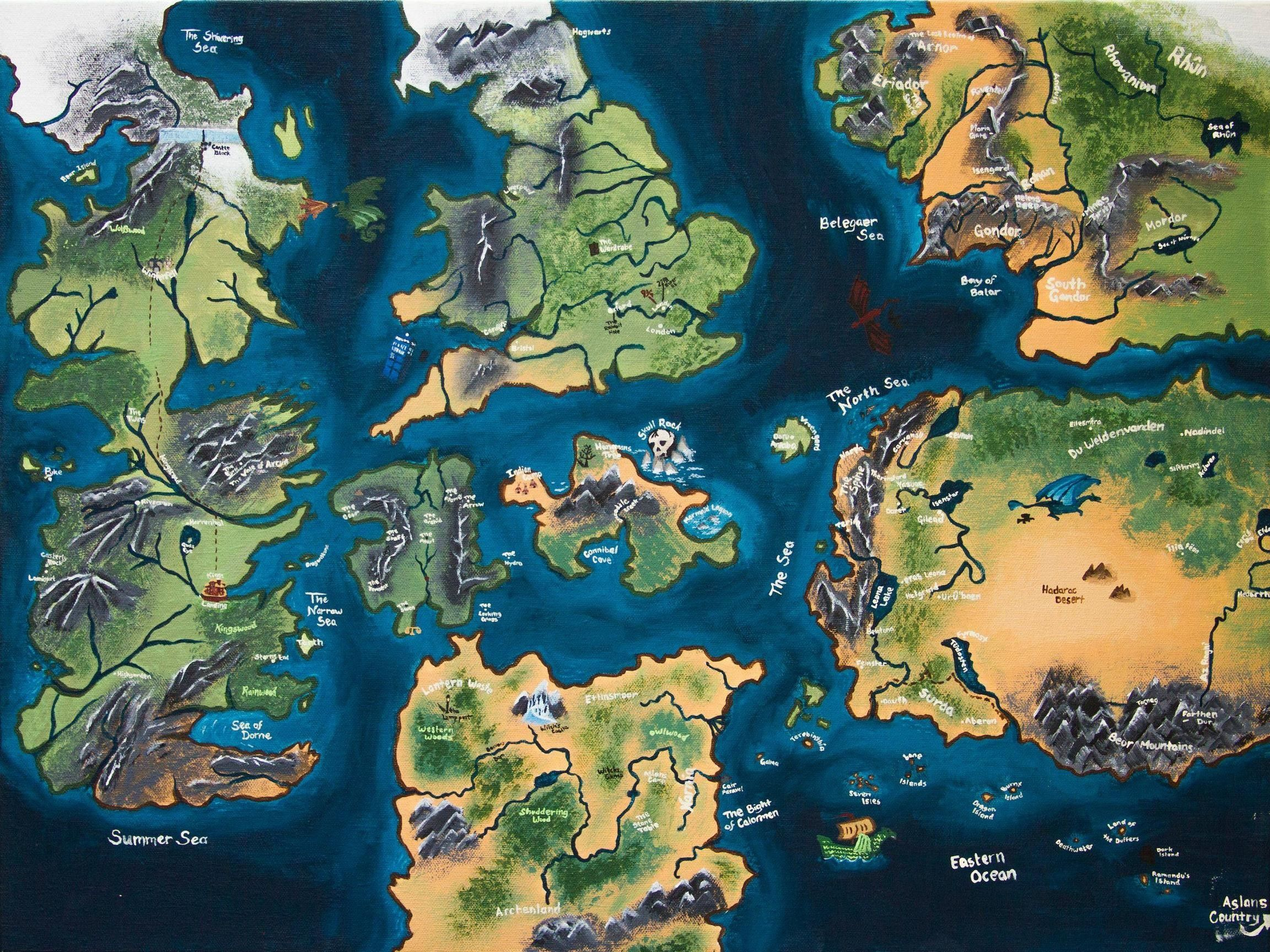 Game of Thrones Map Wallpapers - Top Free Game of Thrones Map