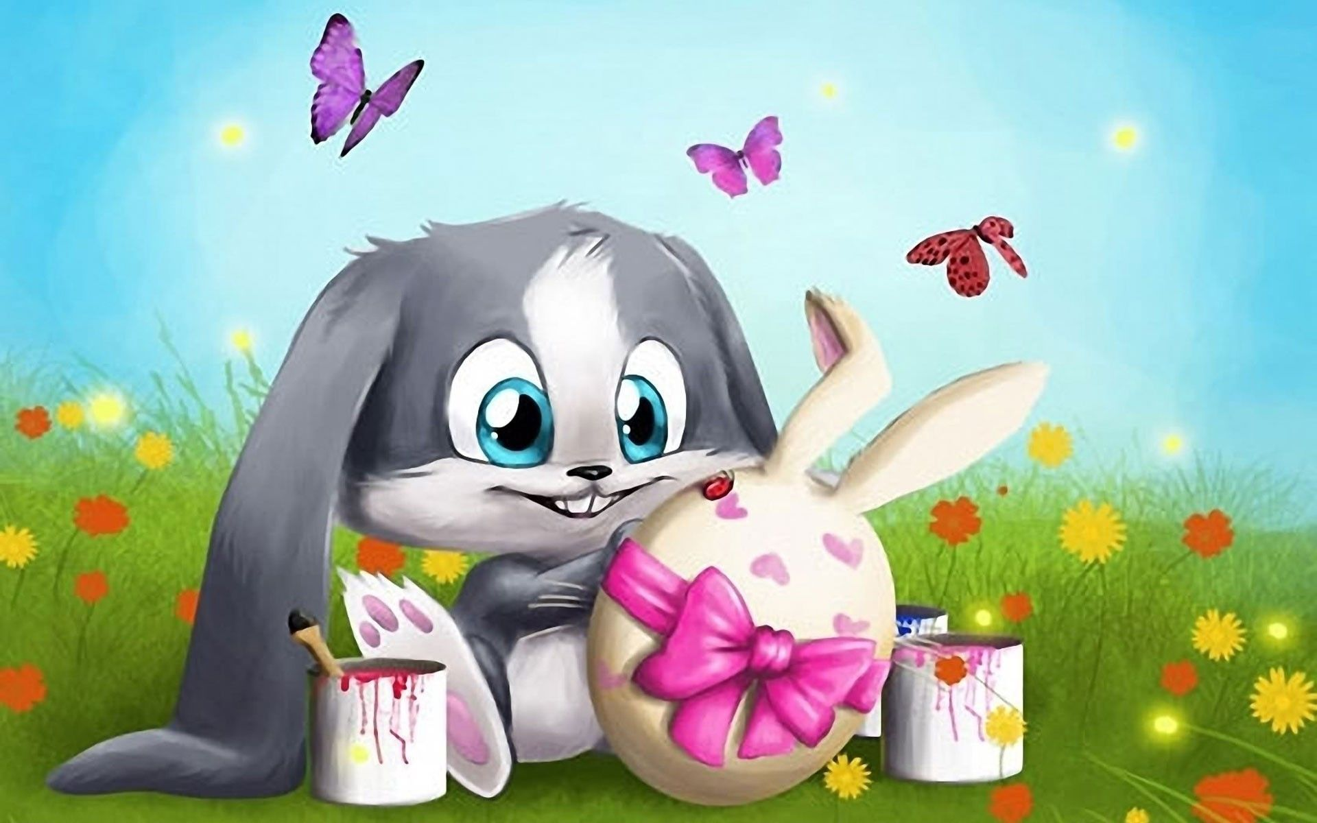 Cartoon Easter Wallpapers Top Free Cartoon Easter Backgrounds