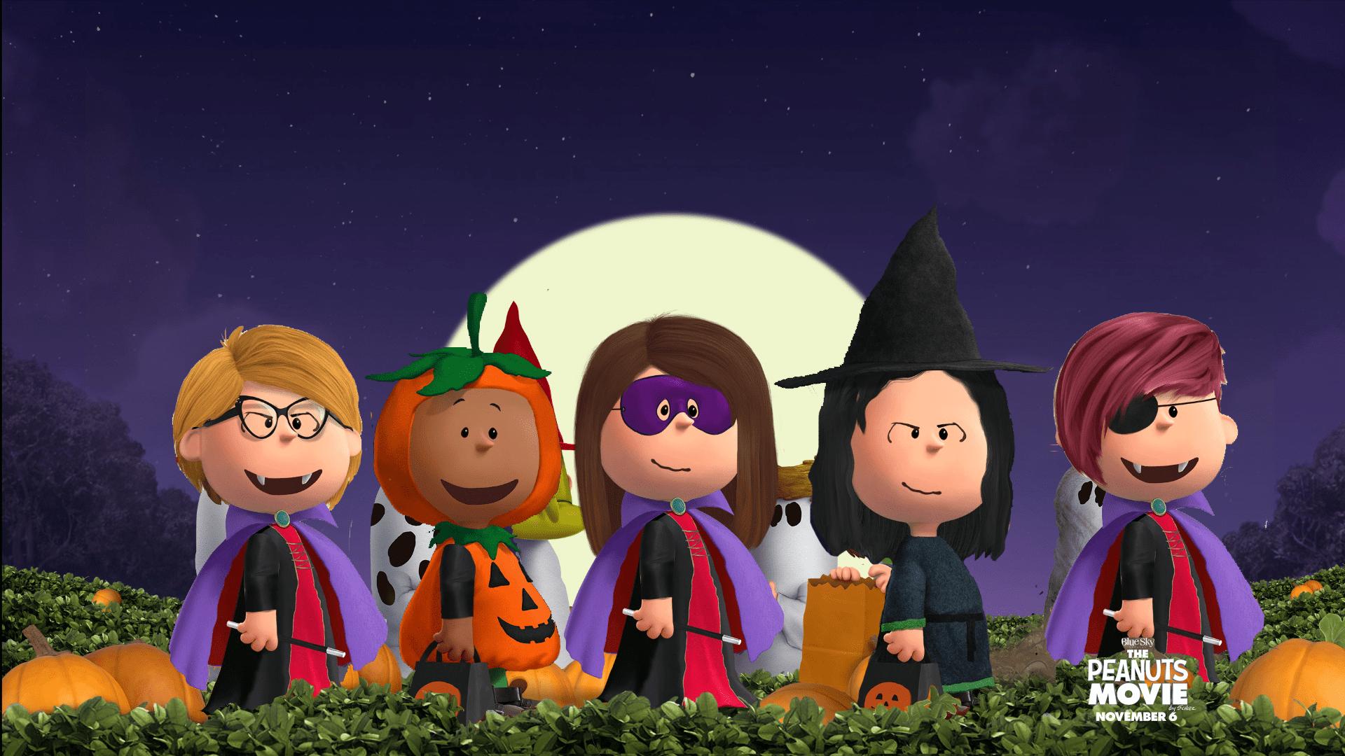 Peanuts Halloween Wallpapers Top Free Peanuts Halloween Backgrounds Wallpaperaccess