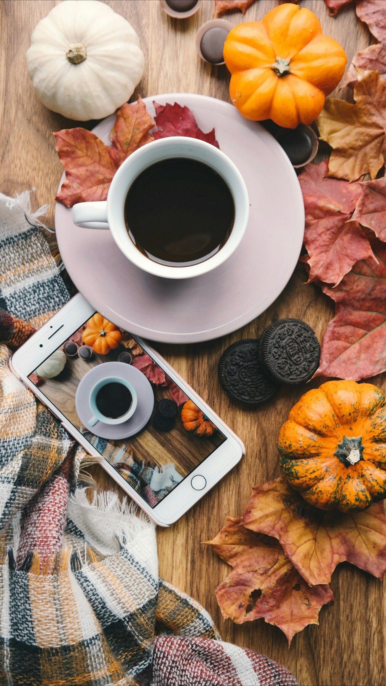 Autumn Coffee Wallpapers Top Free Autumn Coffee