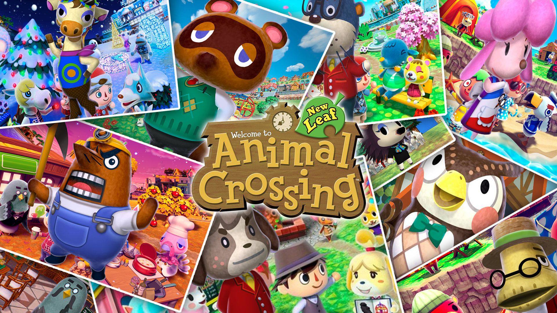 aesthetic animal crossing new horizons desktop wallpaper