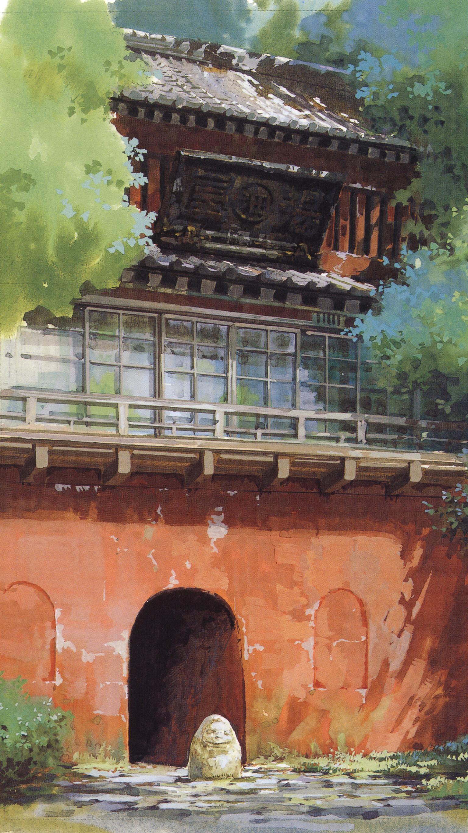 Spirited Away Mobile Wallpapers Top Free Spirited Away Mobile Backgrounds Wallpaperaccess