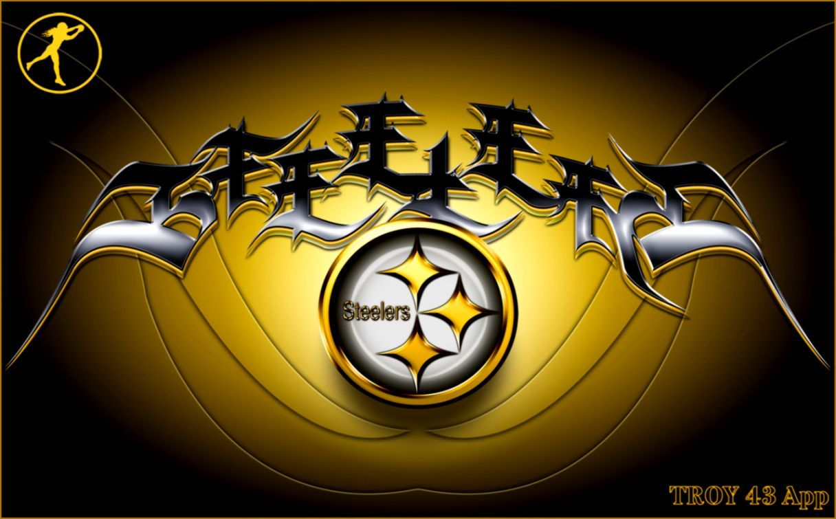 Steelers Logo Wallpapers Top Free Steelers Logo Backgrounds