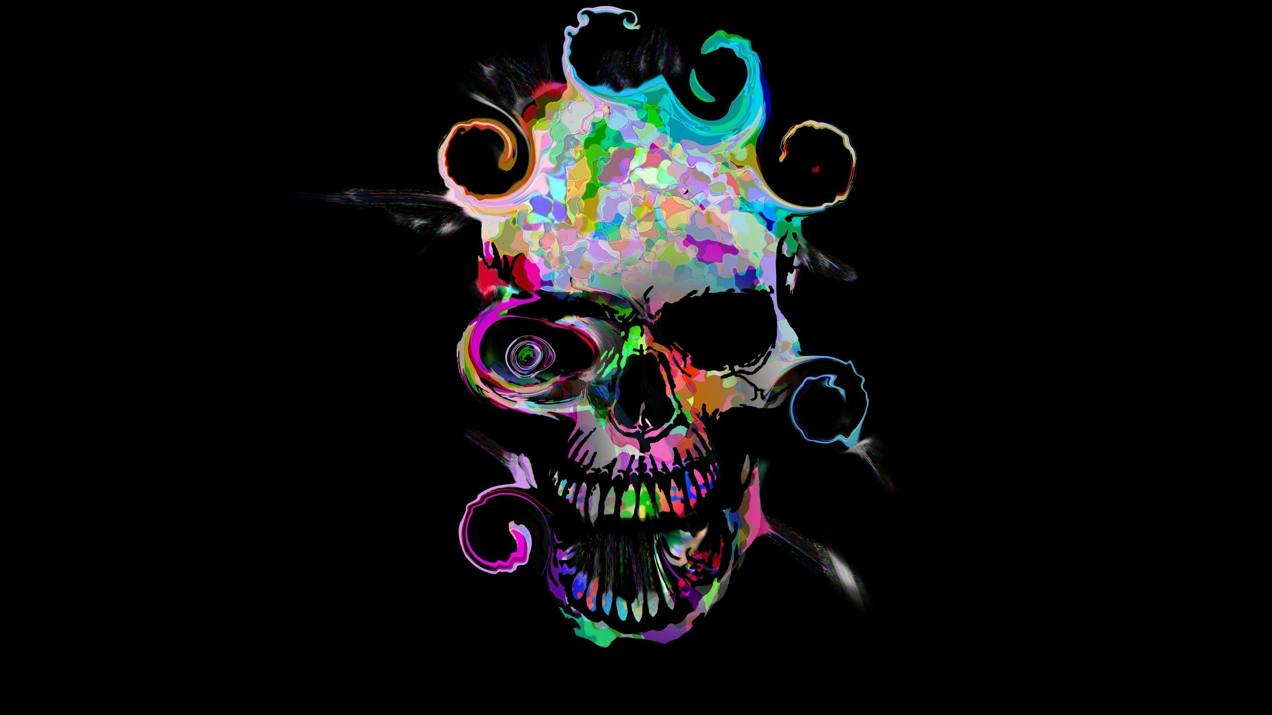 Purple And Black Skull Wallpapers Top Free Purple And Black Skull Backgrounds Wallpaperaccess