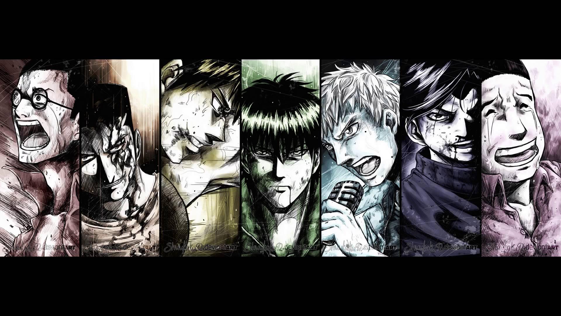 X  Rainbow Anime Hd Wallpapers
