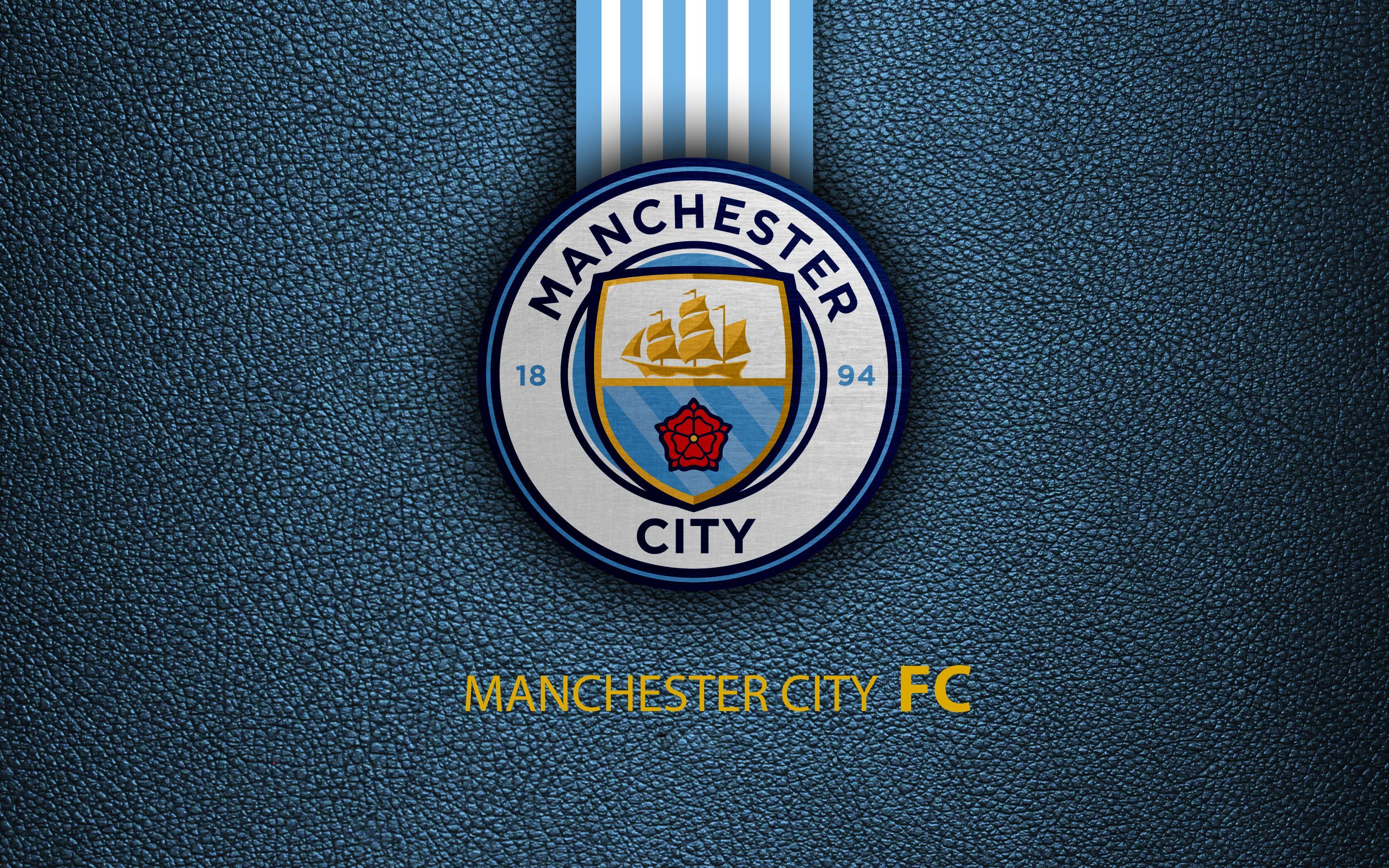3840x2400 Manchester City Logo 4k Ultra HD Wallpaper | Background ...