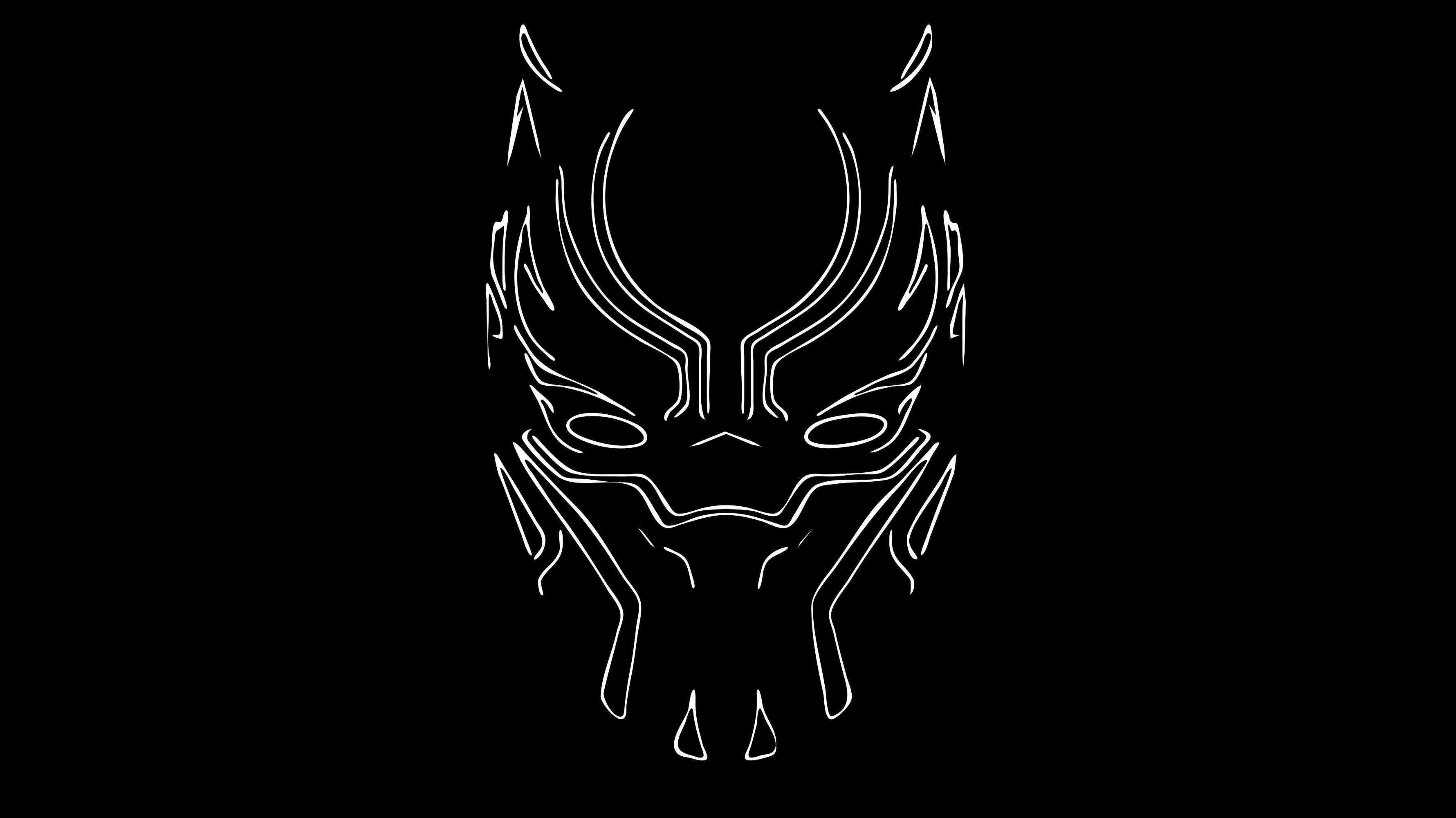 Black Panther Logo Wallpapers Top Free Black Panther Logo
