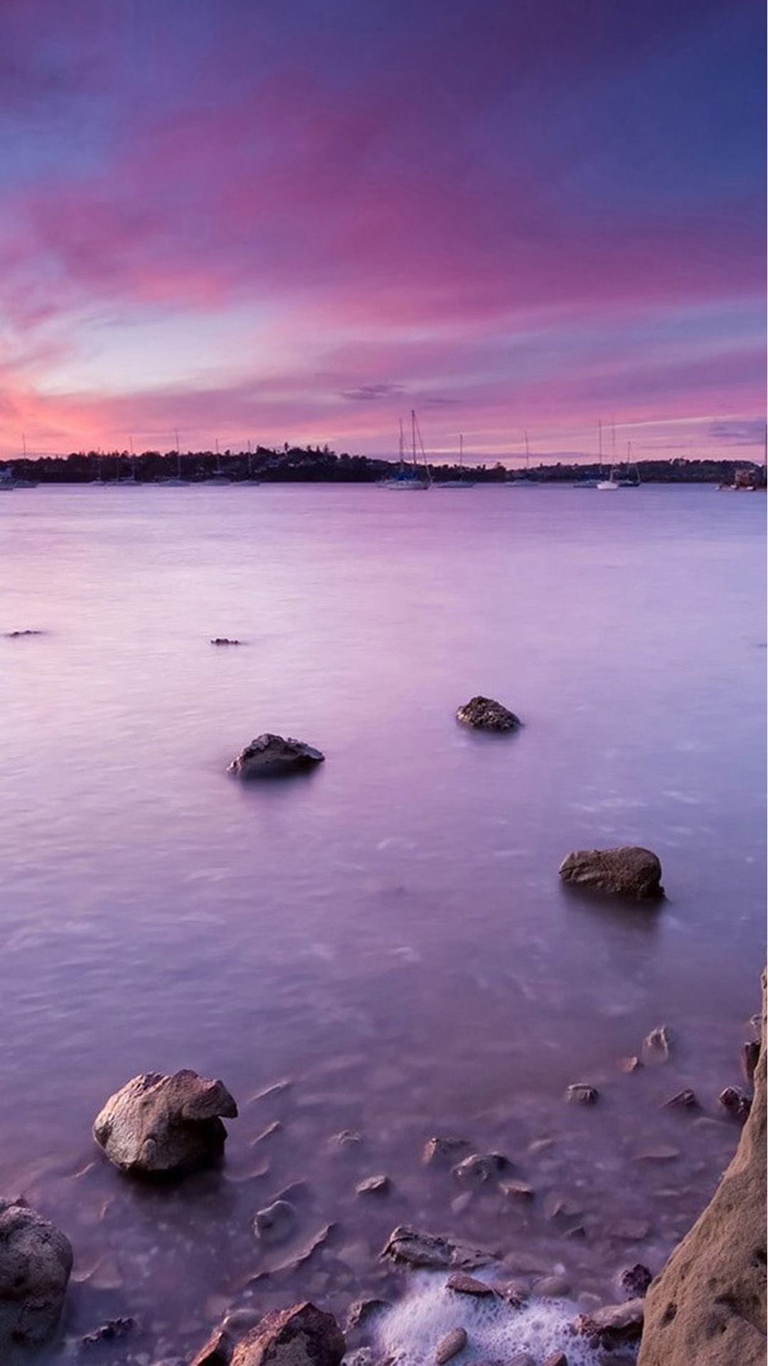 Pink And Purple Sunset Wallpapers Top Free Pink And Purple