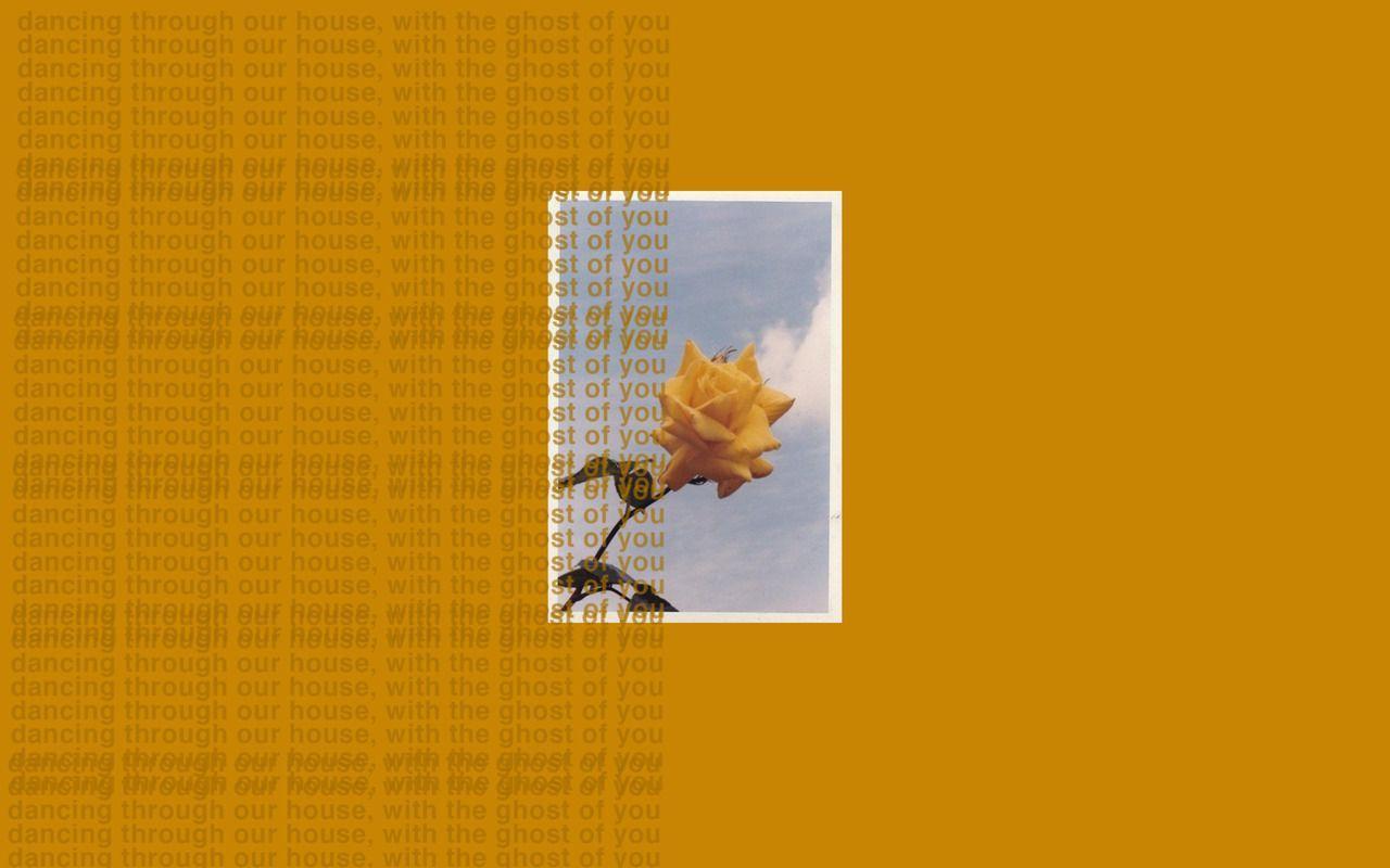 Orange Aesthetic Desktop Wallpapers Top Free Orange Aesthetic
