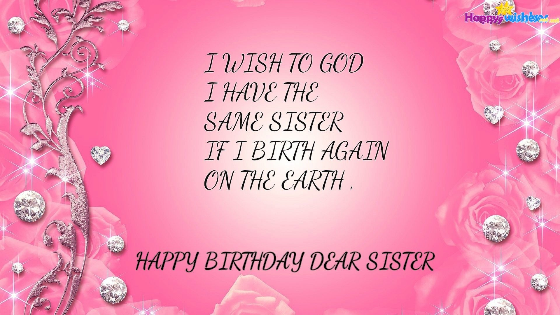 Fine Sister Wallpapers Top Free Sister Backgrounds Wallpaperaccess Personalised Birthday Cards Veneteletsinfo