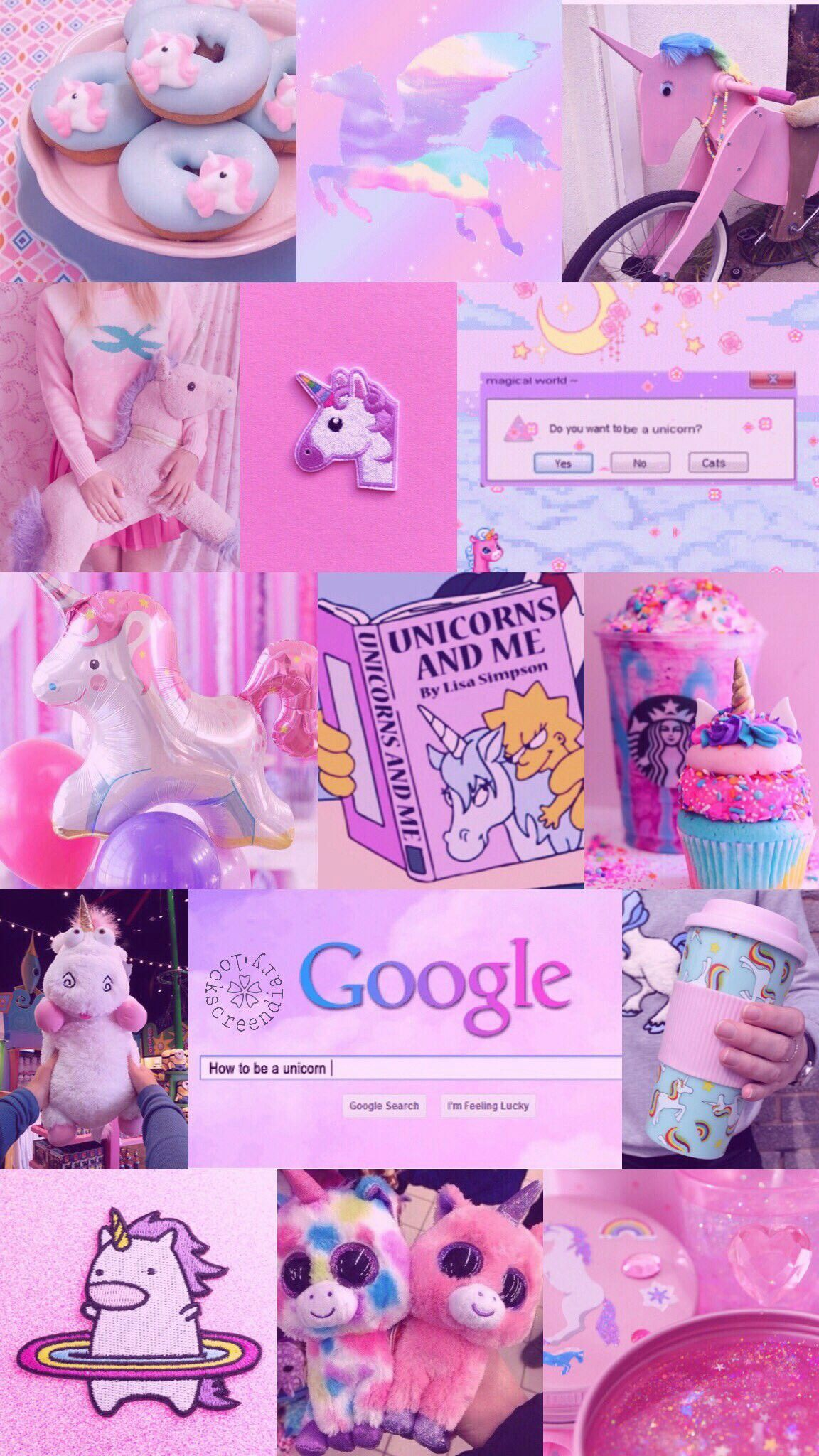 Unicorn Aesthetic Wallpapers Top Free Unicorn Aesthetic Backgrounds Wallpaperaccess
