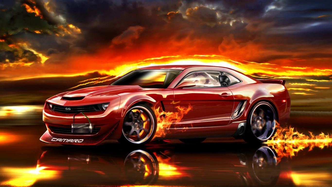 Fire Camaro Wallpapers Top Free Fire Camaro Backgrounds