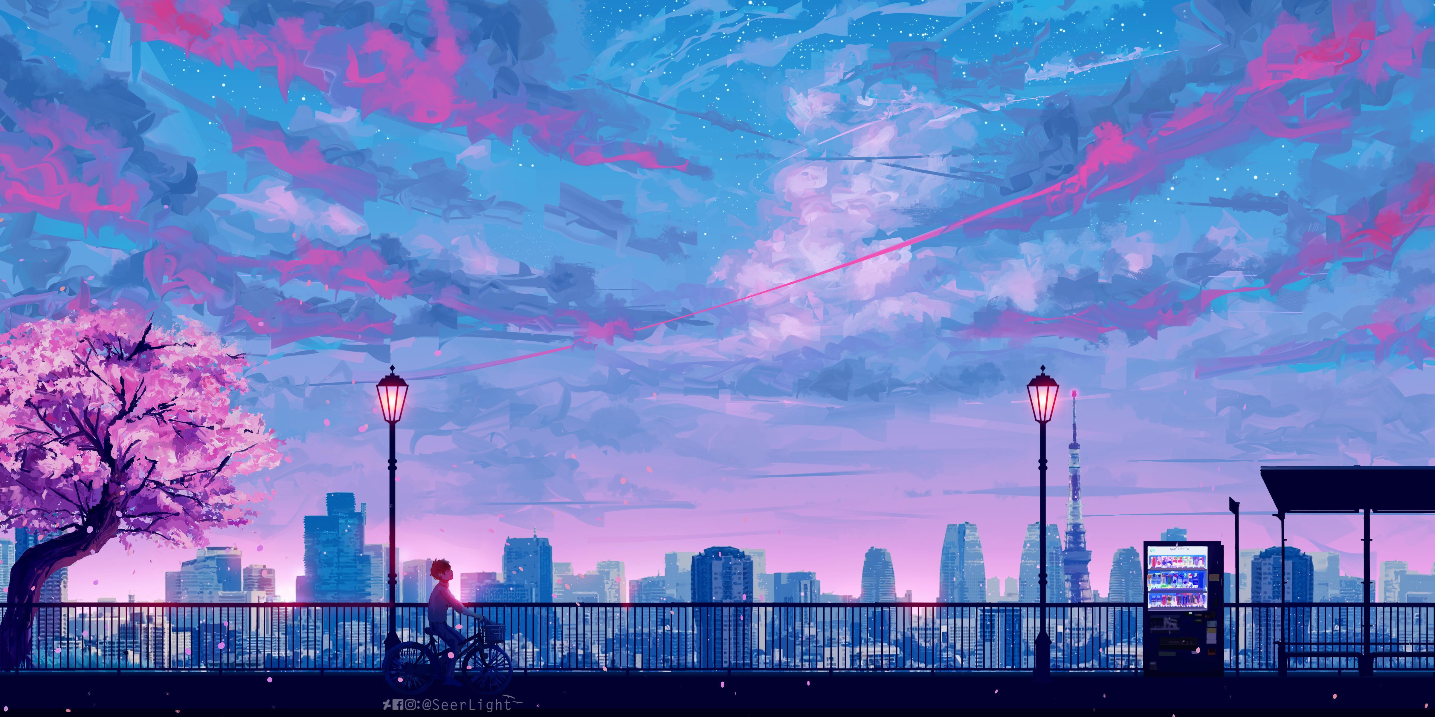 Aesthetic Anime Desktop Wallpapers Top Free Aesthetic Anime