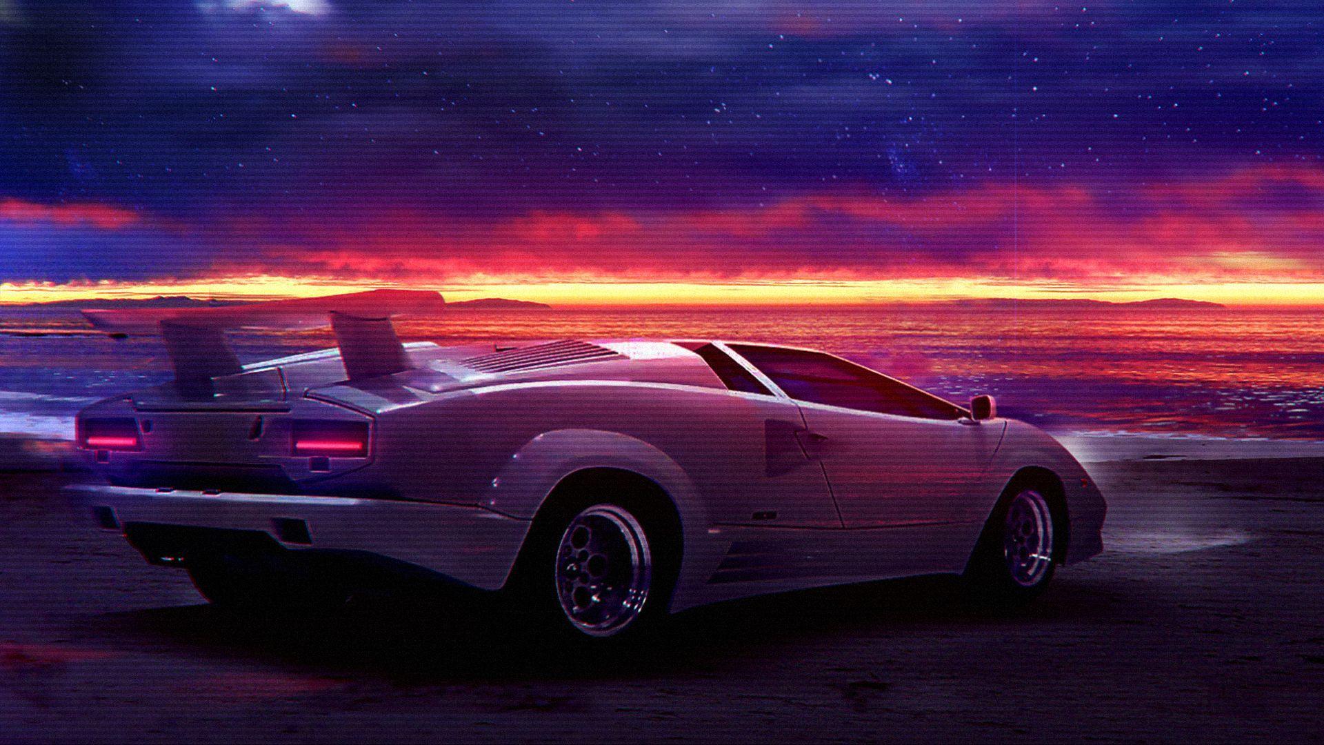 80s Retro Neon Car Wallpapers , Top Free 80s Retro Neon Car