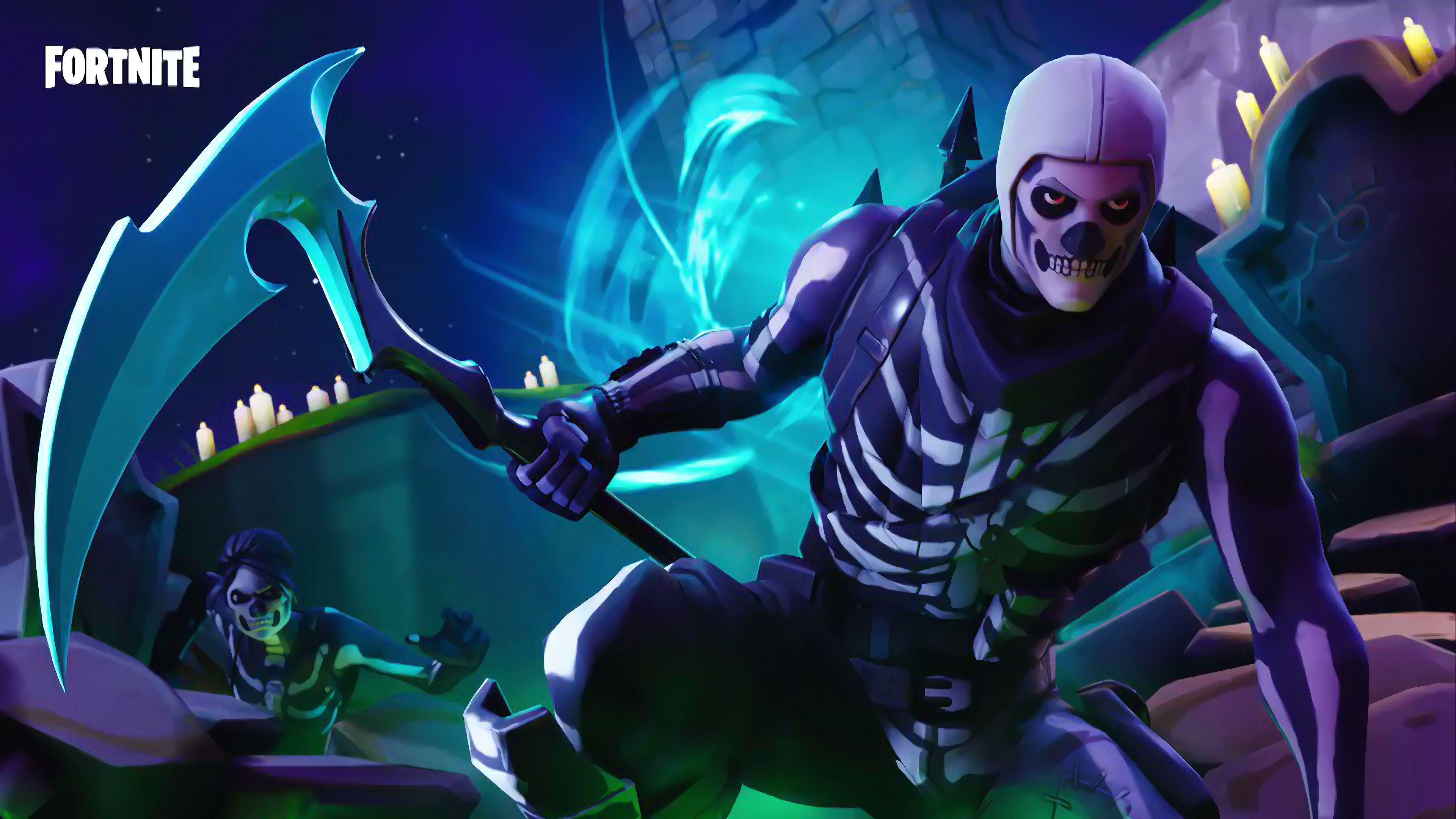 Fortnite Halloween Wallpapers Top Free Fortnite Halloween Backgrounds Wallpaperaccess
