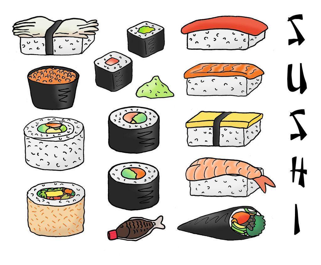 Cartoon Sushi Wallpapers - Top Free Cartoon Sushi ...