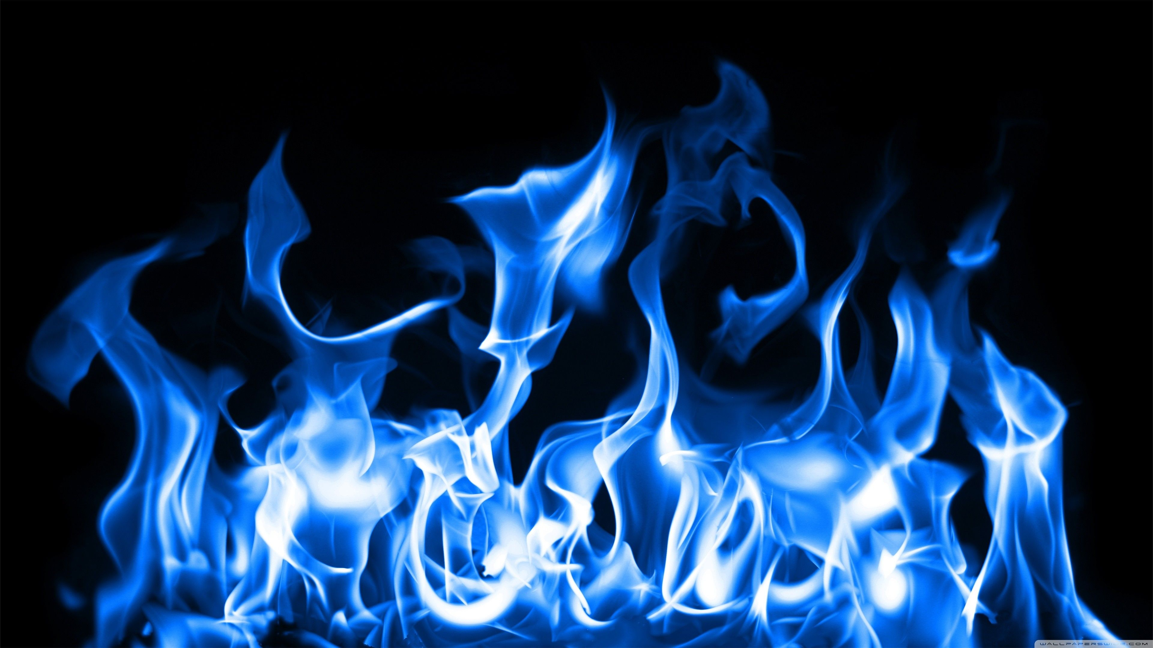 Blue Fire Wallpapers Top Free Blue Fire Backgrounds Wallpaperaccess