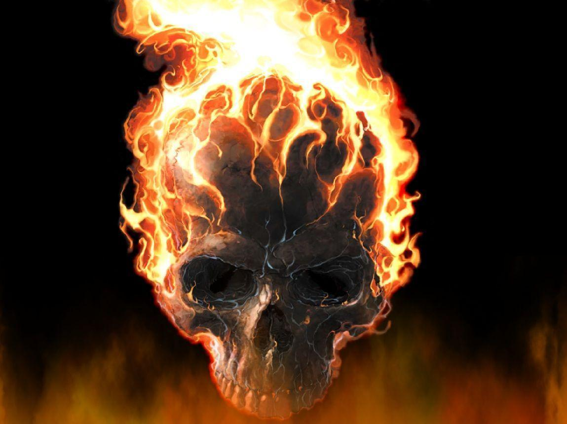 Fire Skull Wallpapers Top Free Fire Skull Backgrounds Wallpaperaccess