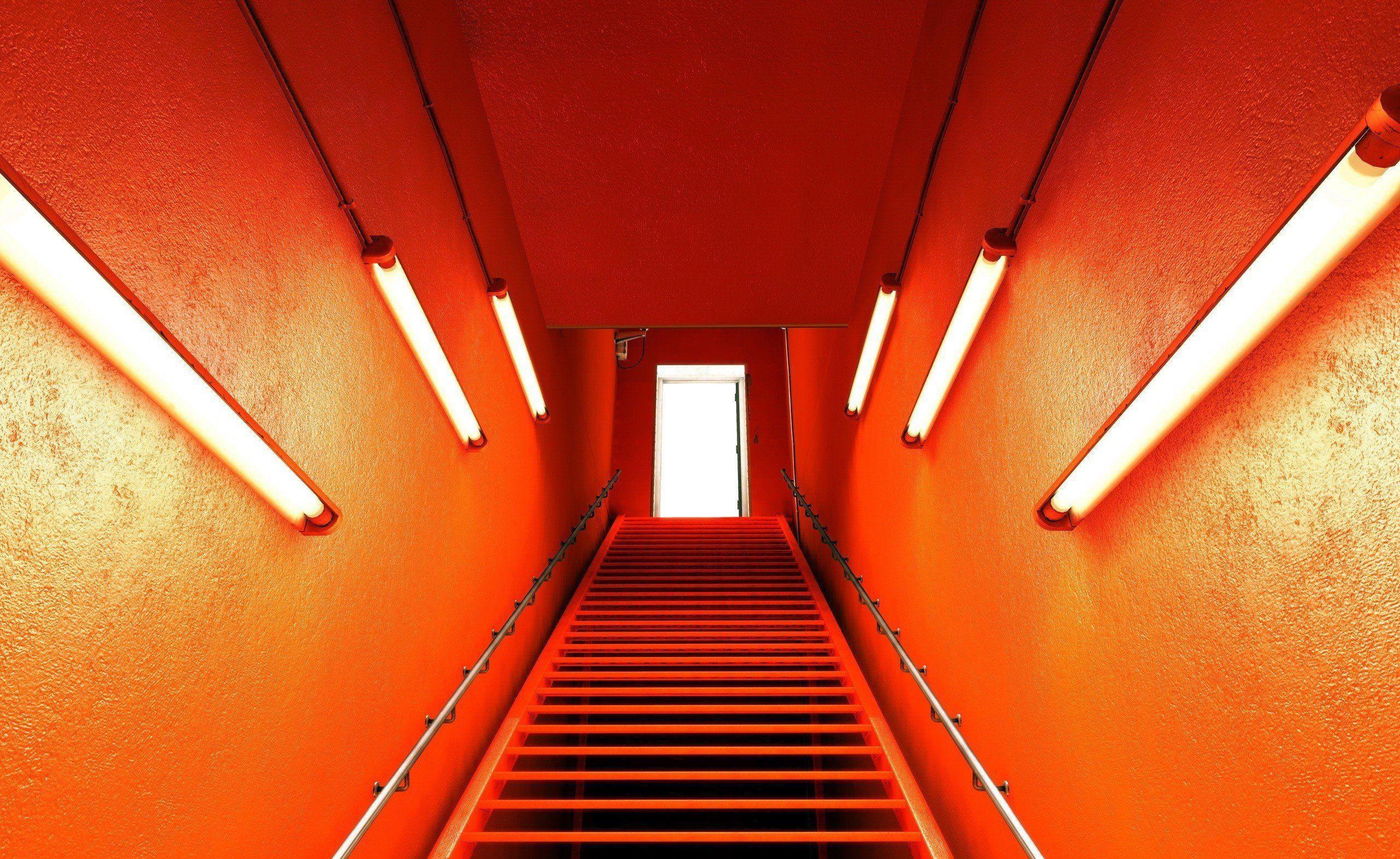 orange aesthetic desktop wallpapers