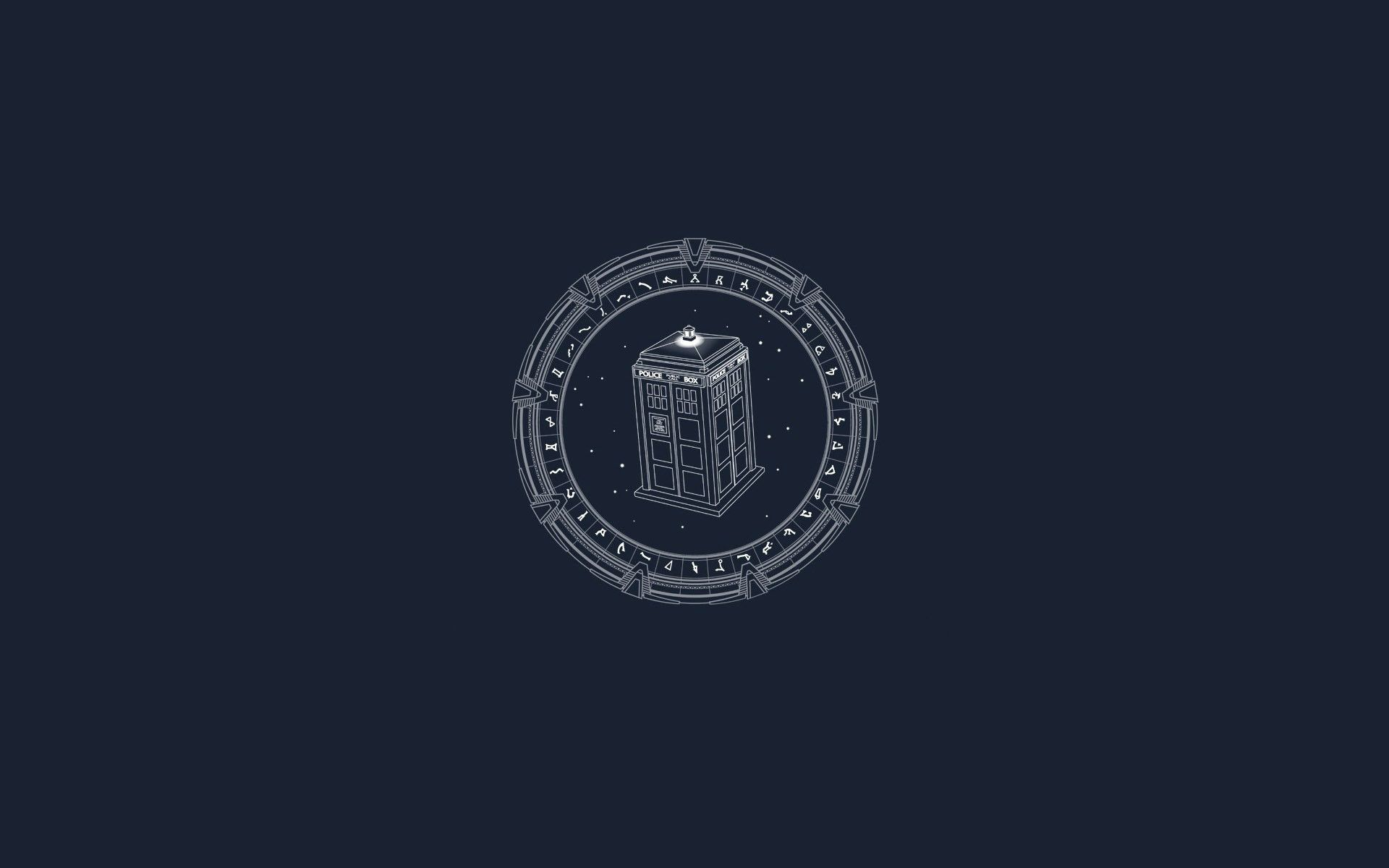 Minimalist Doctor Who Wallpapers Top Free Minimalist