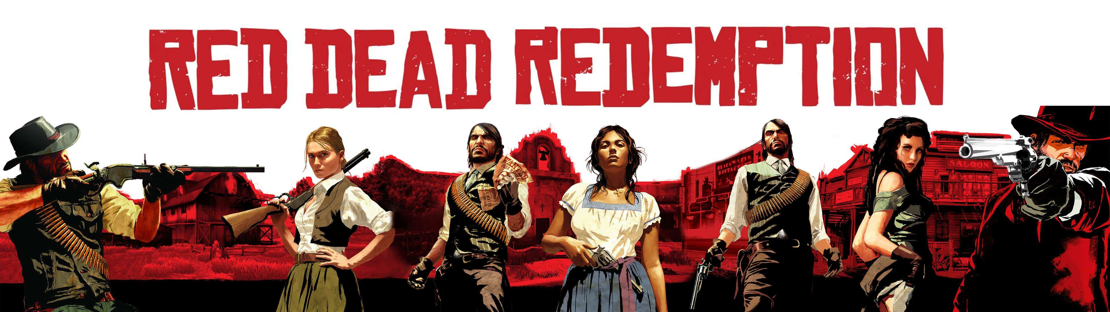 Red Dead Dual Monitor Wallpapers Top Free Red Dead Dual Monitor