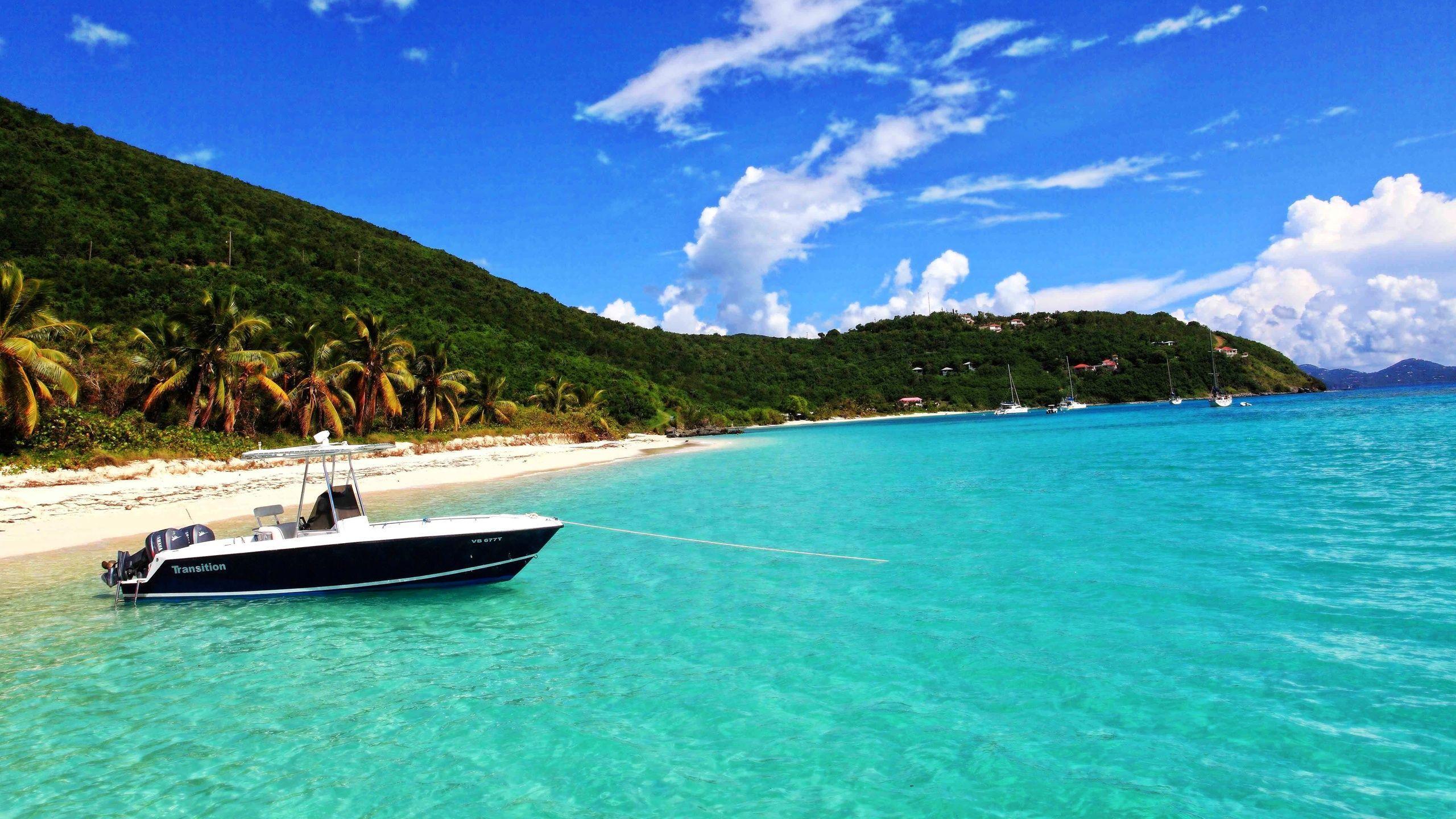 Hi res beach wallpapers top free hi res beach - Caribbean wallpaper free ...