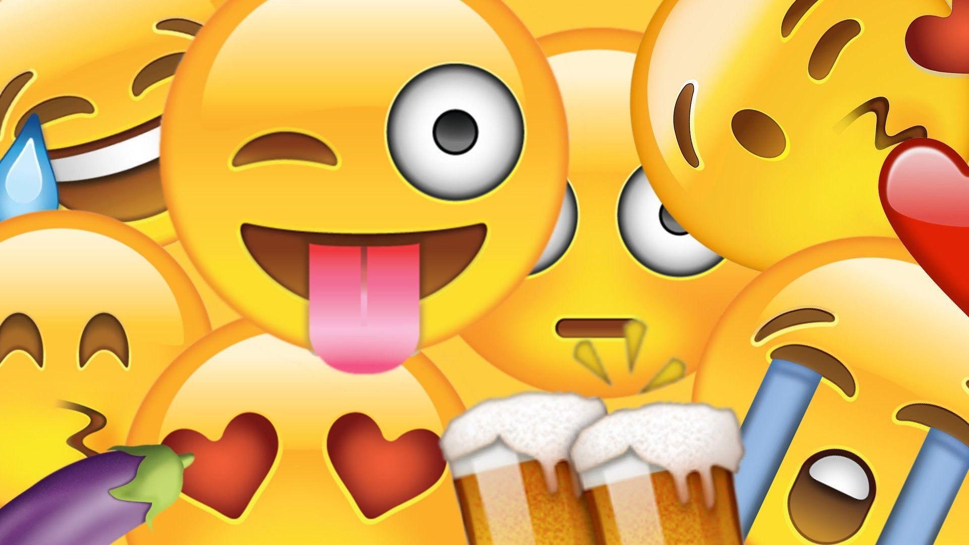 Emoji Computer Wallpapers - Top Free