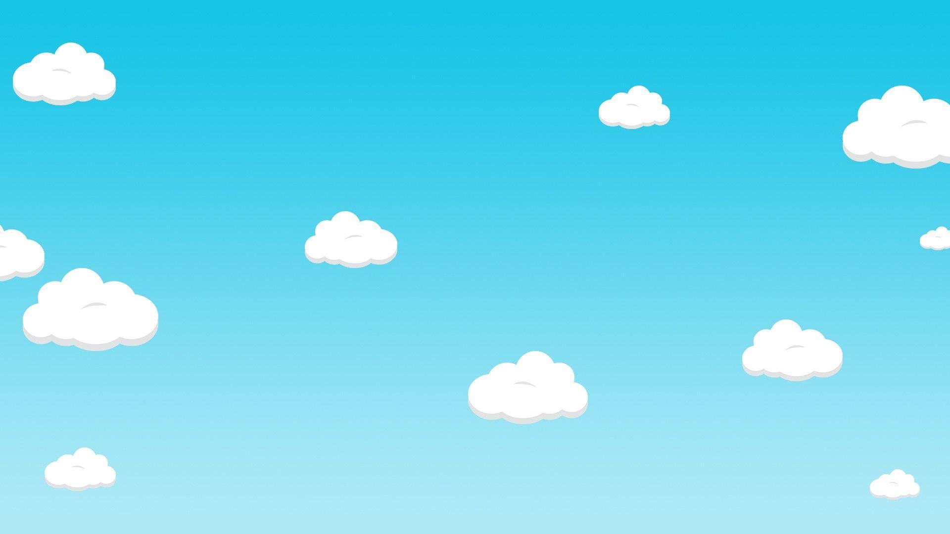 Дети на фоне неба картинка