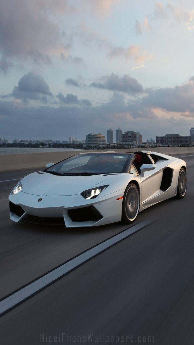 White Lamborghini Iphone Wallpapers Top Free White Lamborghini