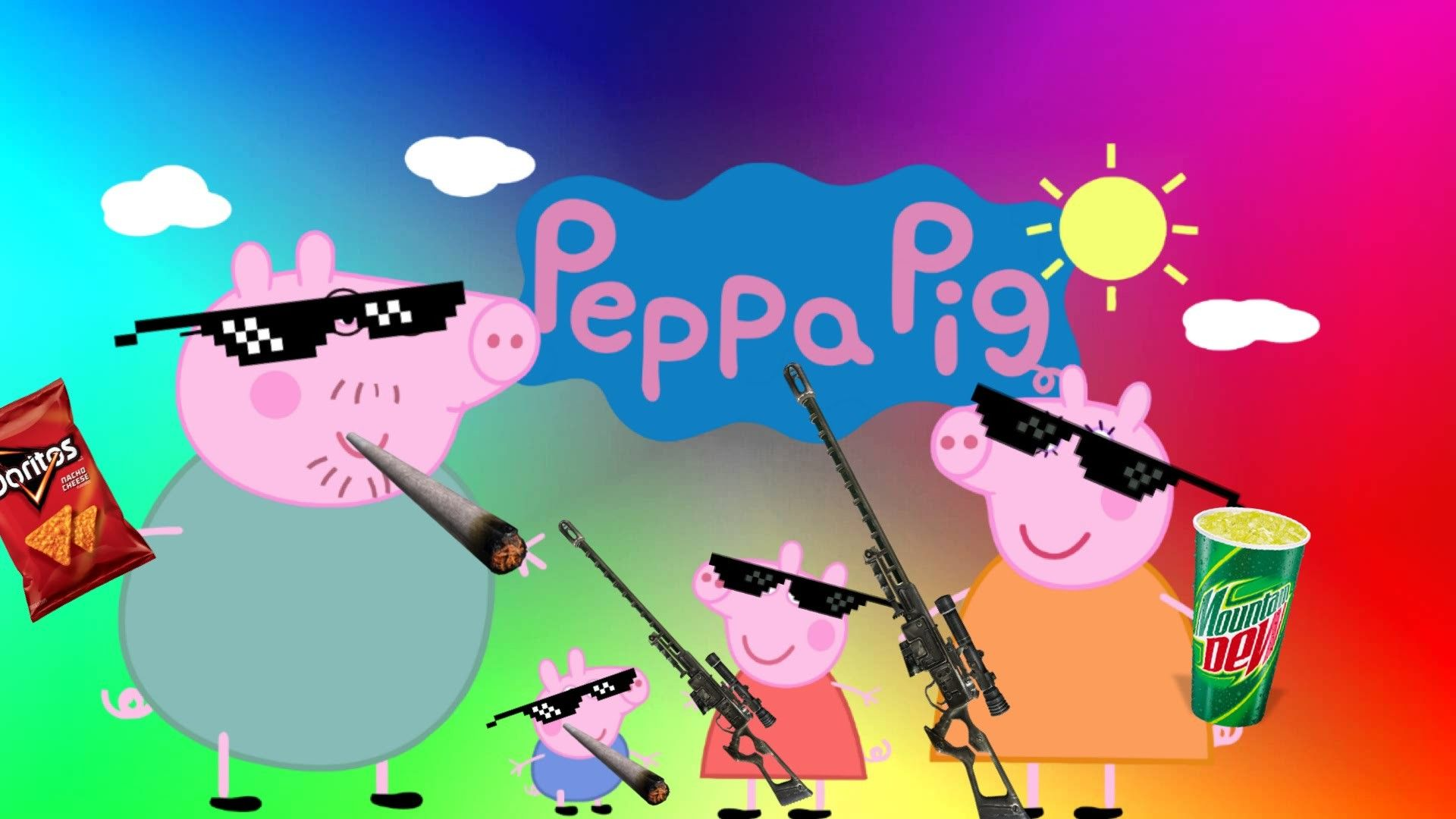 Peppa Pig Wallpapers Top Free Peppa Pig Backgrounds Wallpaperaccess